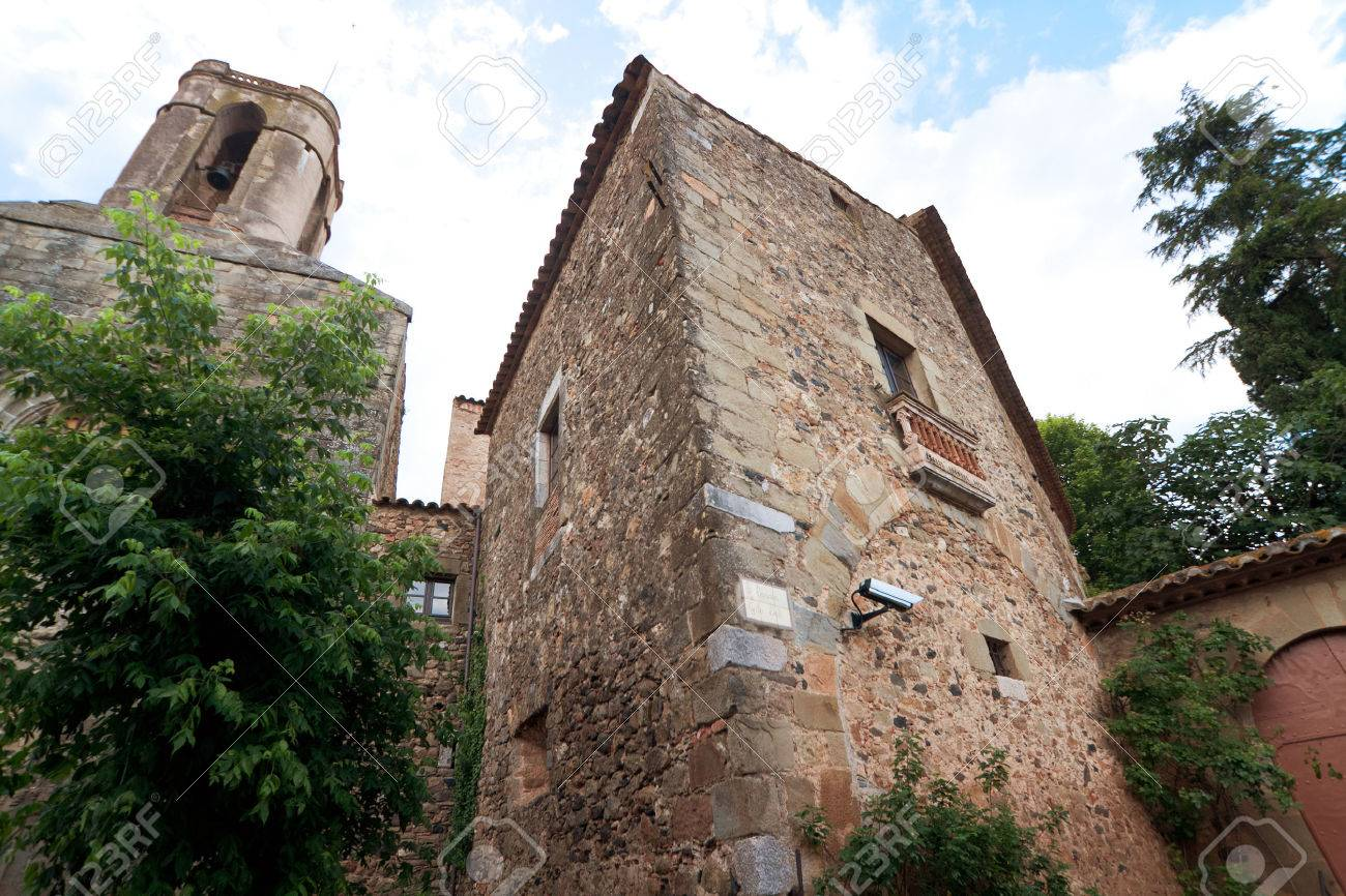 Gala Dali Castle, Pubol, Catalonia, Spain