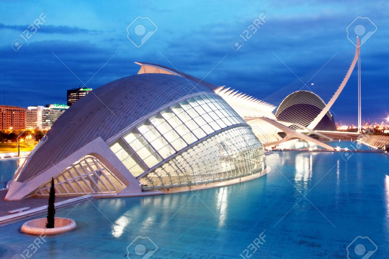 Hemisferic in City of Arts and Sciences Valencia, Spain - 28892186