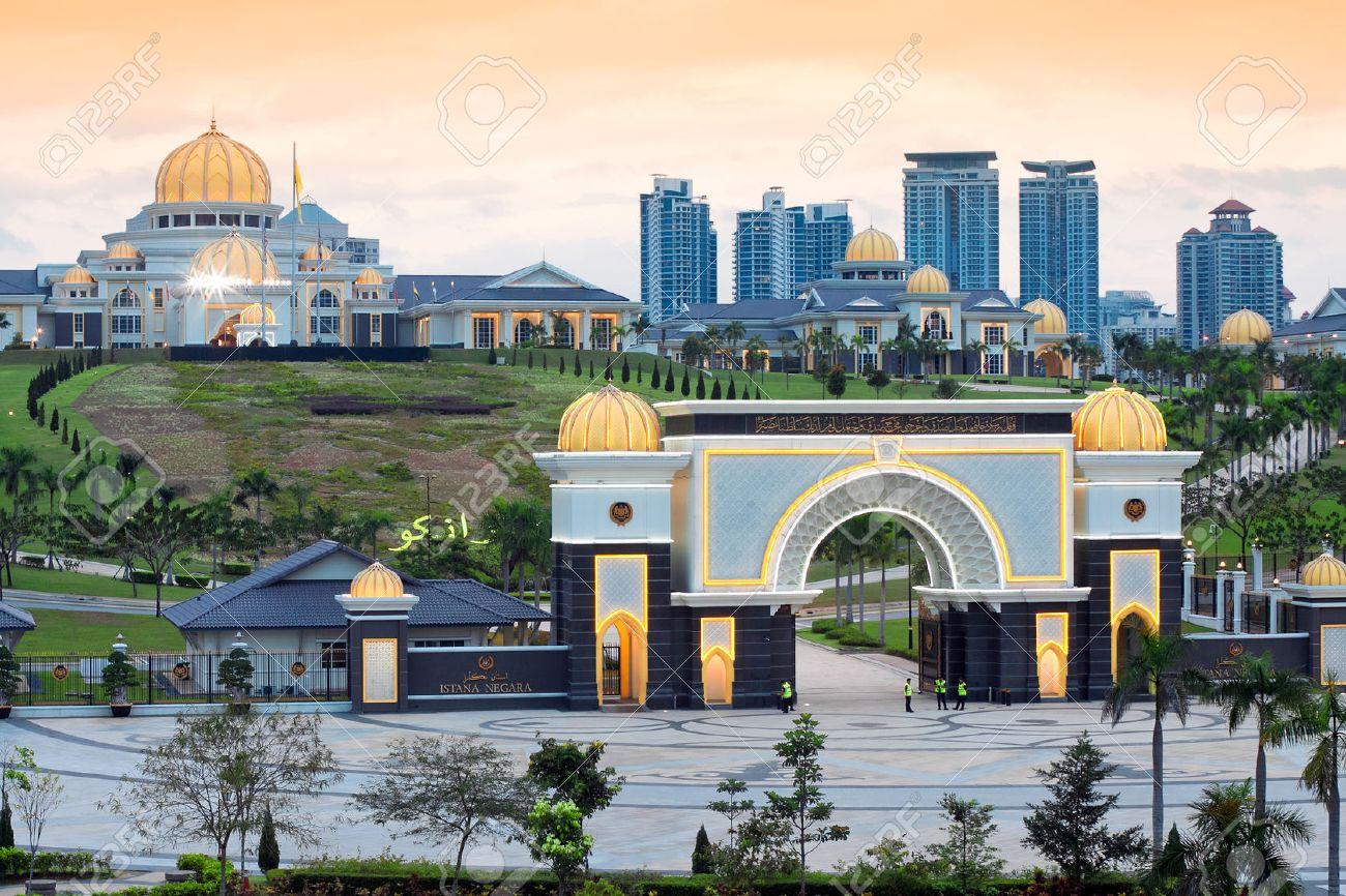 Royal Palace Istana Negara (Istana Negara), Kuala Lumpur, Malaysia - 37020818