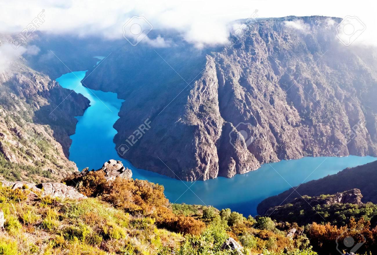 Canyon de Rio Sil, Galicia, Spain - 47636152