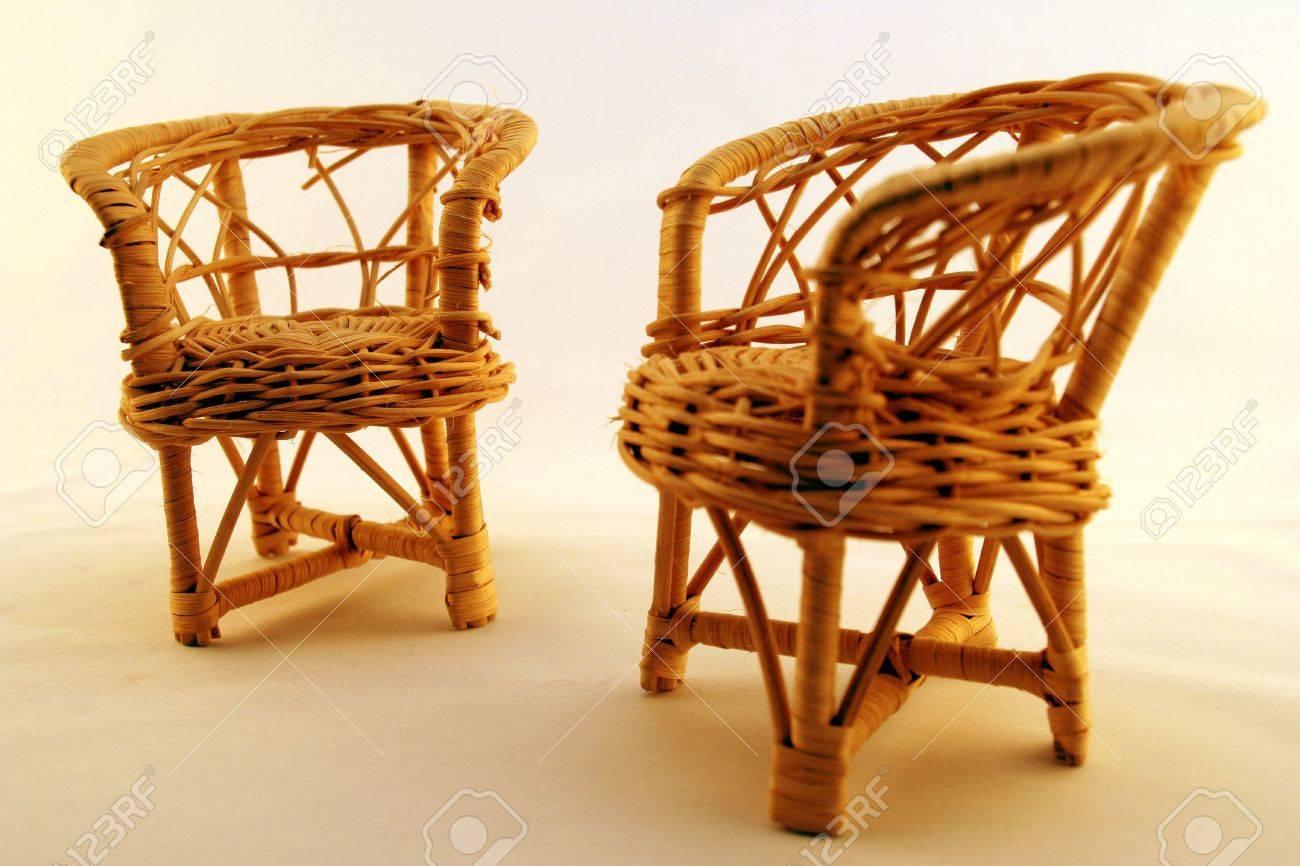 Charmant Straw Chairs