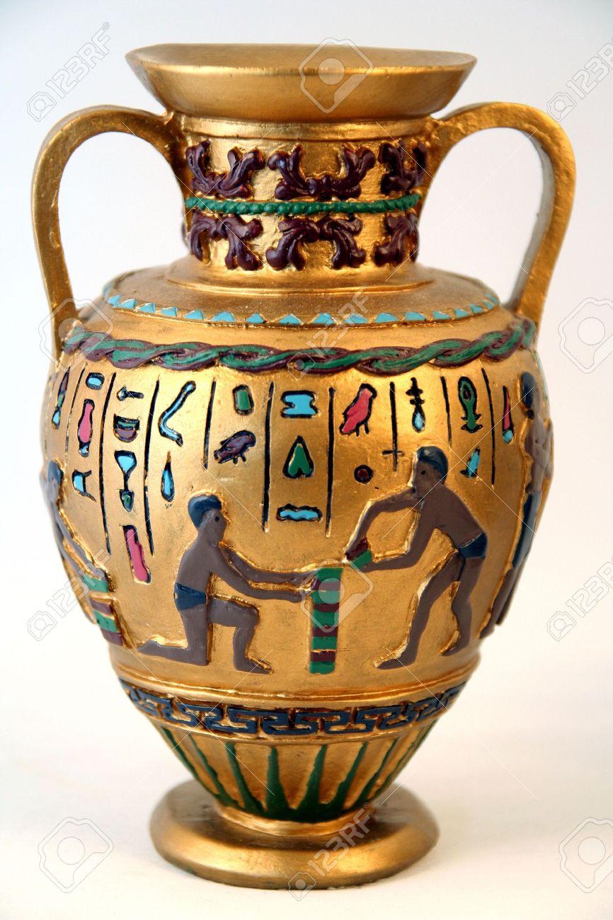 Antique arab or ancient egyptian golden vase with holographic antique arab or ancient egyptian golden vase with holographic inscriptions on it stock photo 1006477 reviewsmspy