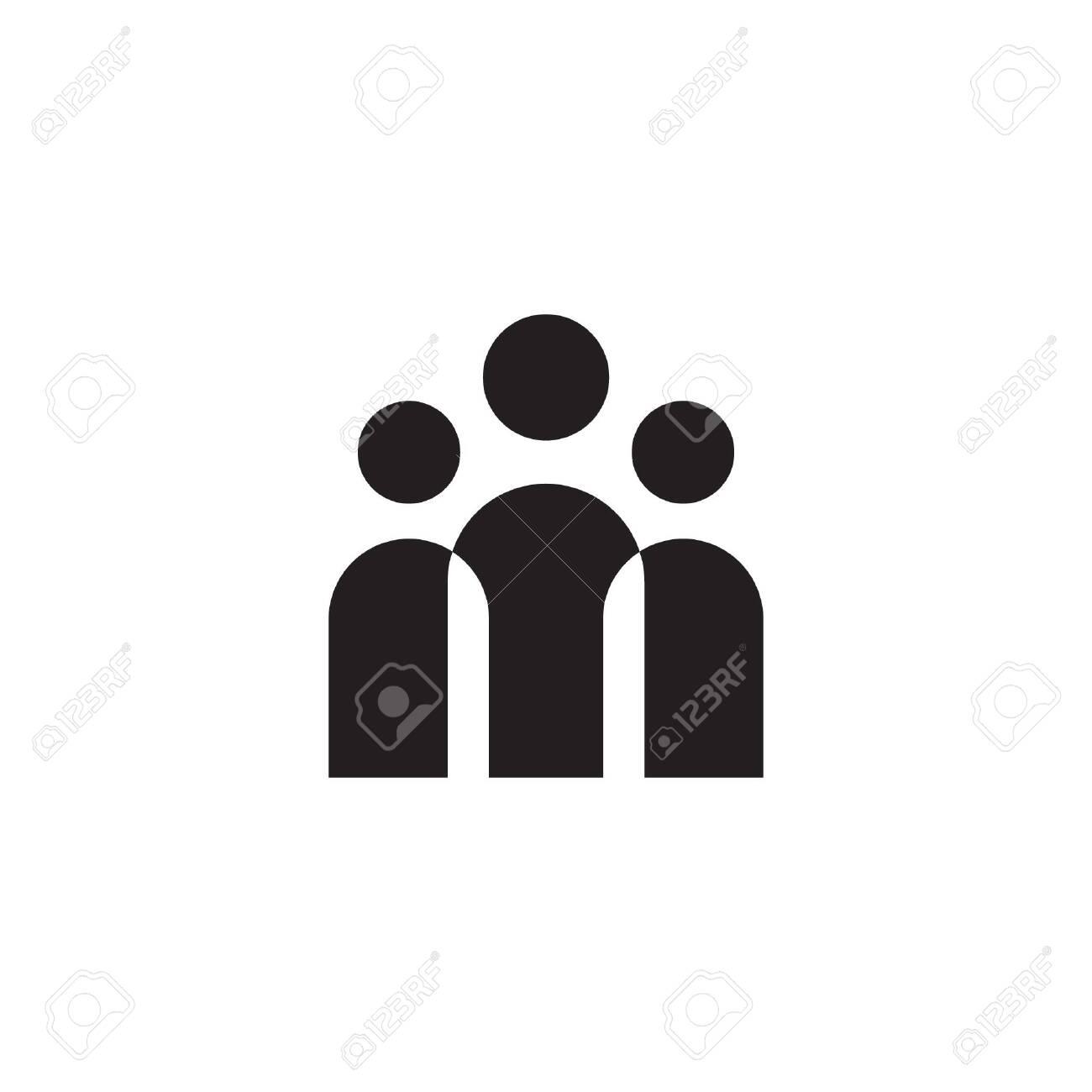 crowd vector icon design - 157626445