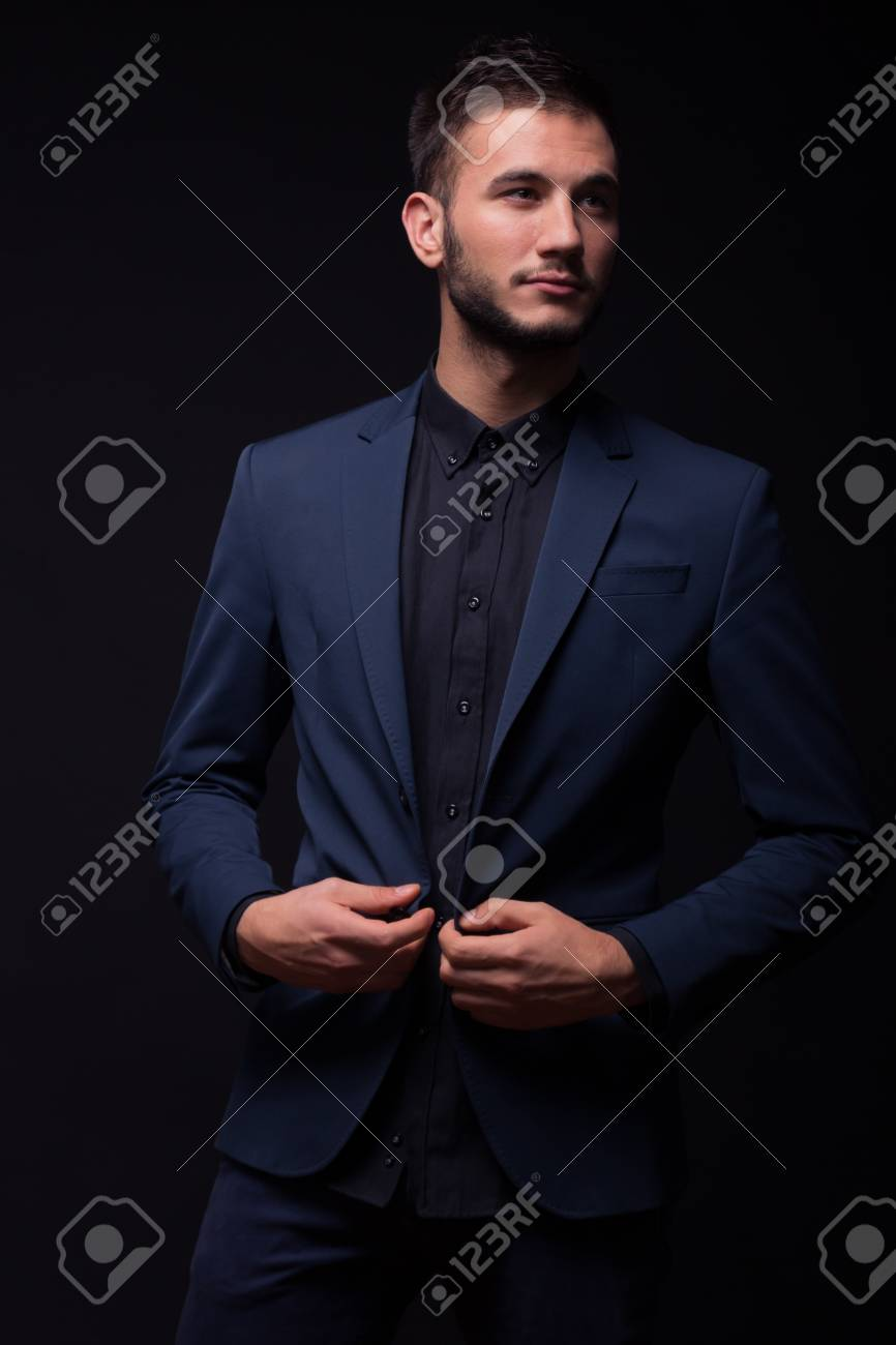 f11be9feae Stock Photo - young man