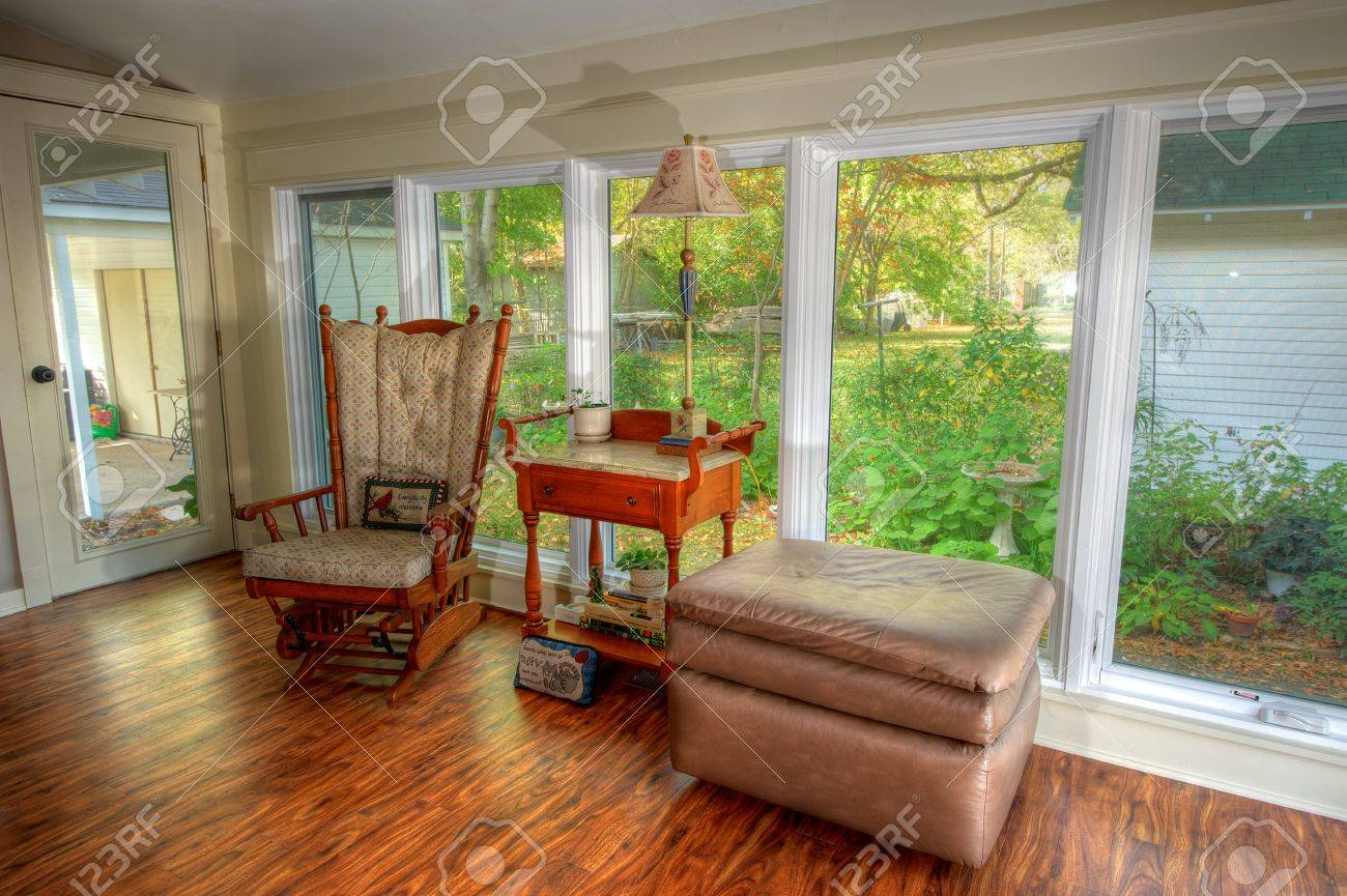 Remodeled Country Sitting Room in Rural Eastern Arkansas  Stock Photo - 16287004