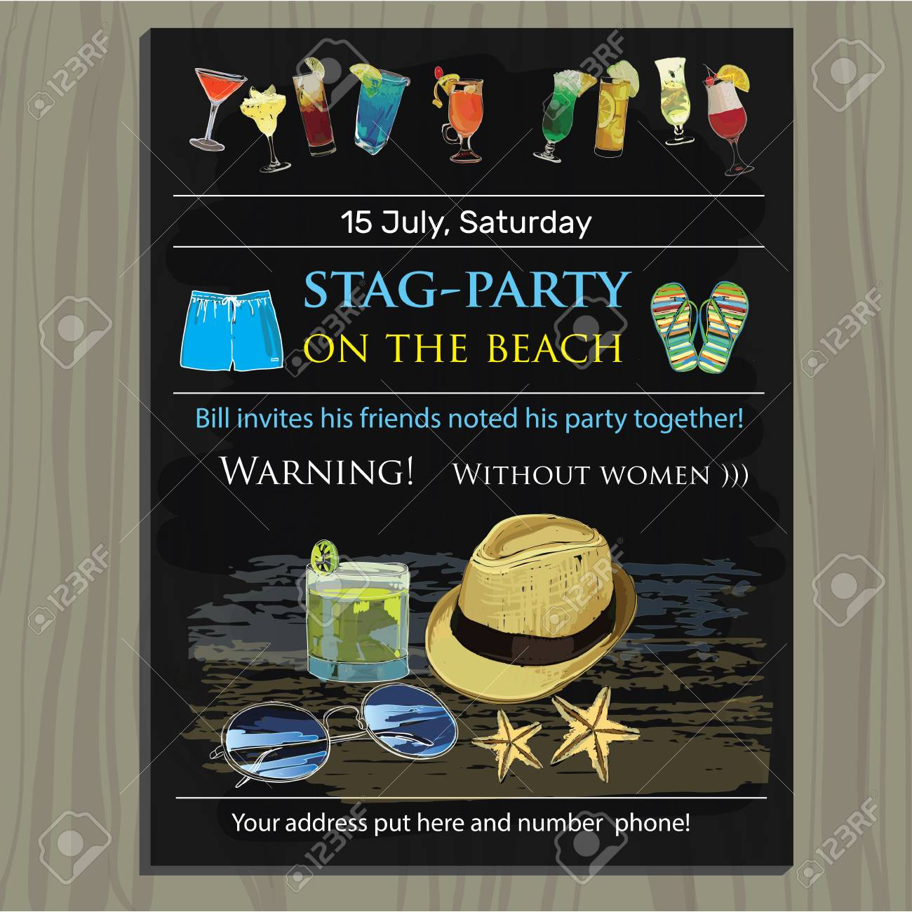8fc5bcfb Stag Do Invite Template Gallery - Free Templates For Everyrhing