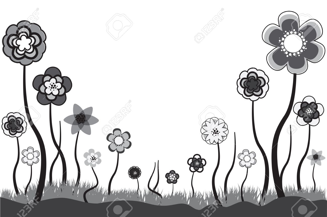 Beautiful floral illustration of seasonal blooms in summer or beautiful floral illustration of seasonal blooms in summer or spring time these flowers are in mightylinksfo