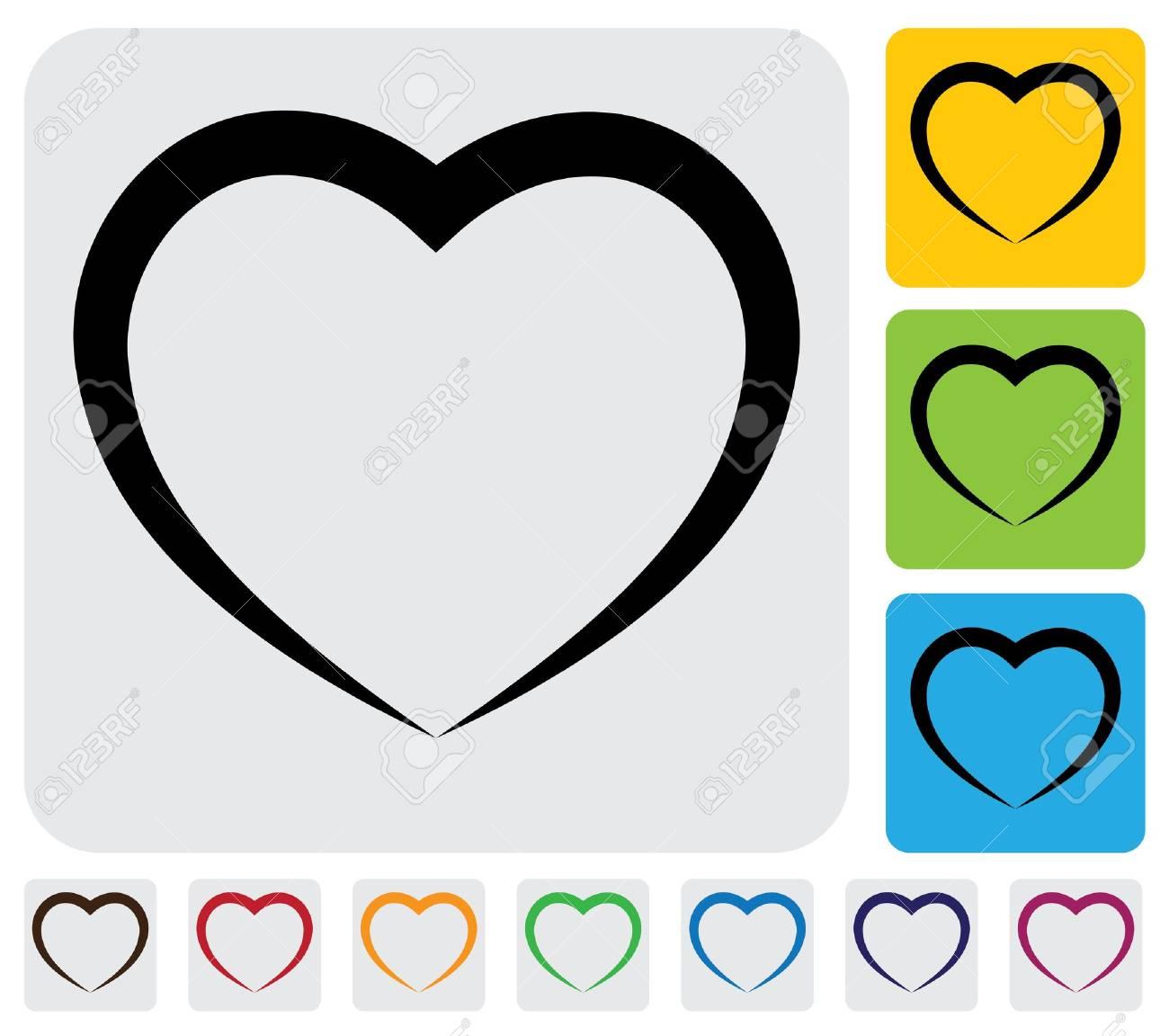coeur noir et blanc coeur humain abstrait lamour icne symbole