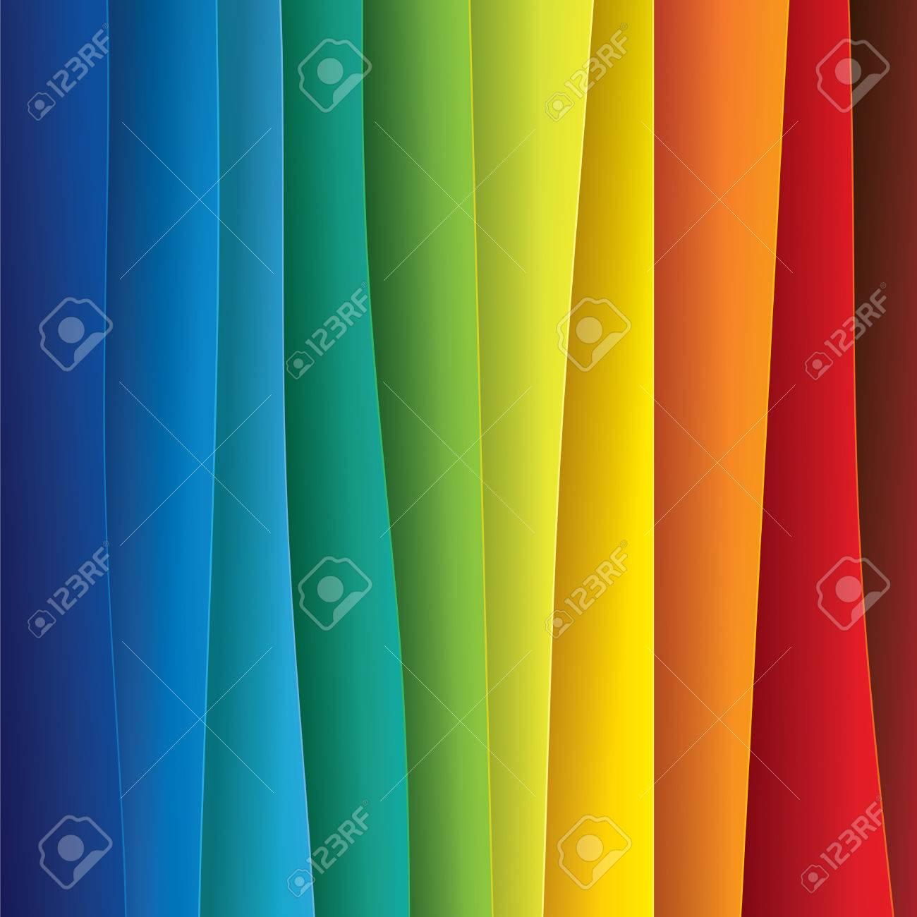 Fondo Colorido Papel O De Plástico Hojas Abstractos - Vector ...