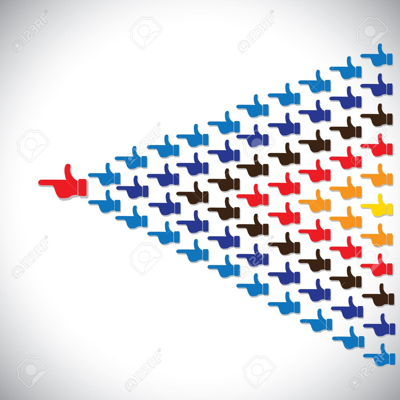 example icon stock photos images royalty example icon images example icon people hands together as arrow leadership concept vector this graphic icon