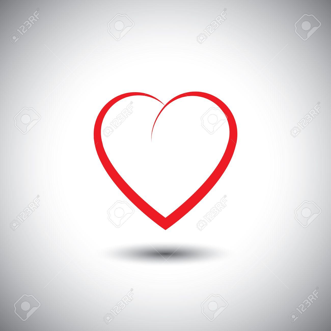 Rei?verschluss Herz Liebe Herz Vektor Grafik-Symbol
