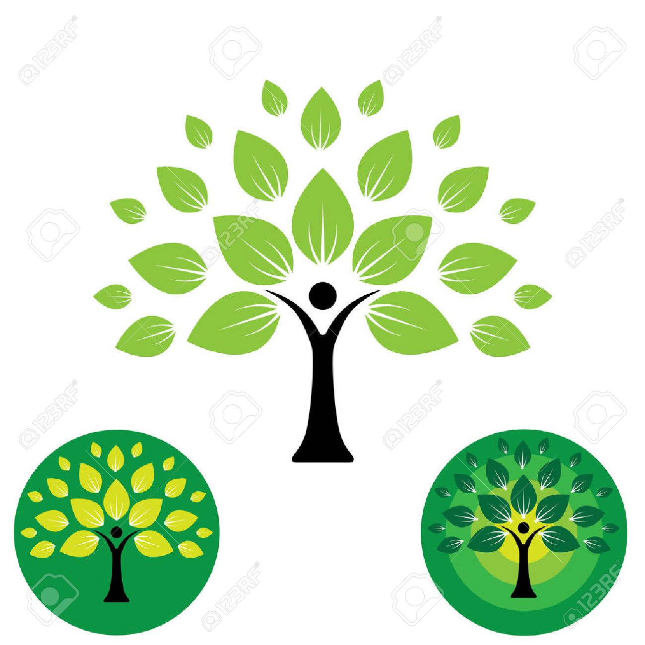 Human life logo icon of abstract people tree vector this design human life logo icon of abstract people tree vector this design represents eco friendly green buycottarizona