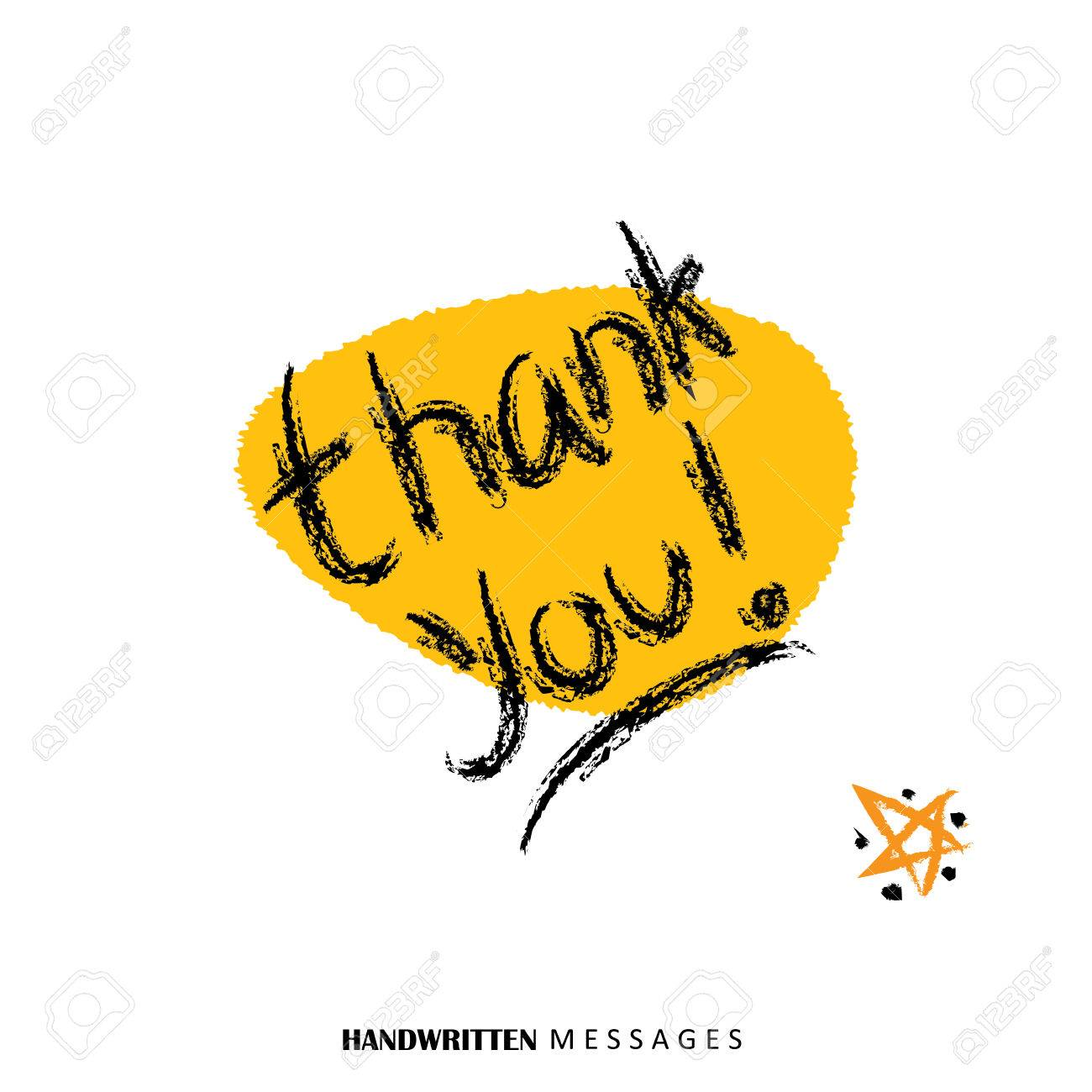 Thank you hand written words vector graphic it can be used for thank you hand written words vector graphic it can be used for thank you greetings m4hsunfo
