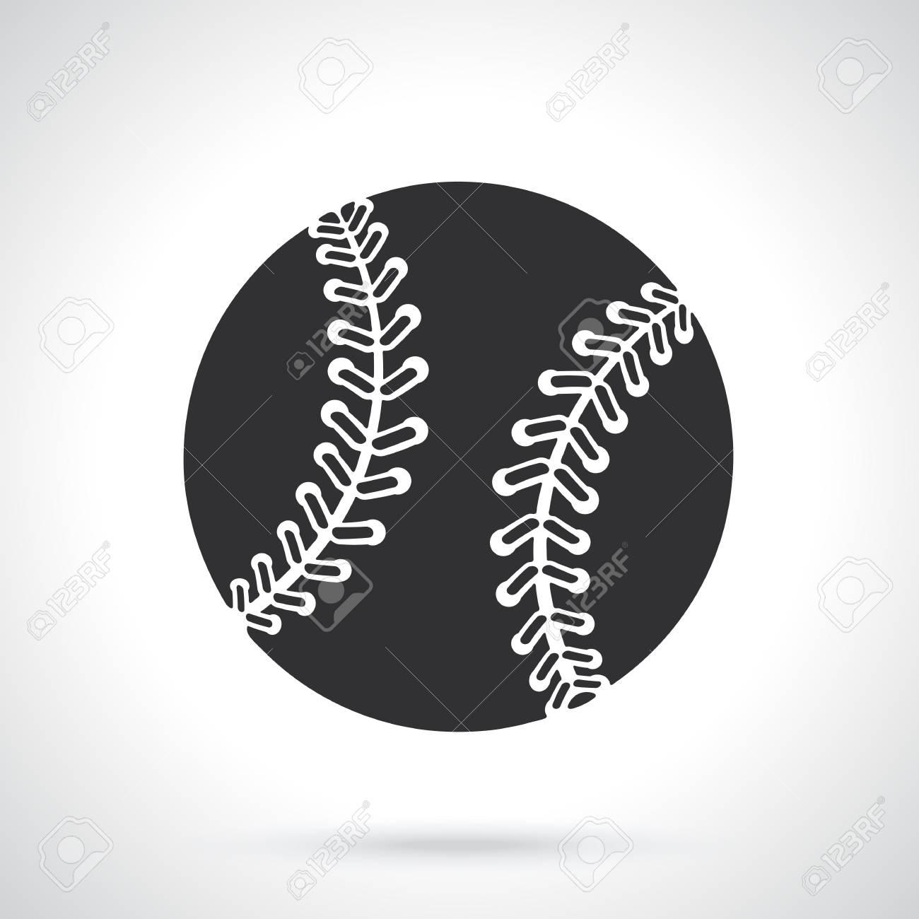 ベクトルの図 野球ボールのシルエット スポーツ用品 グリーティング
