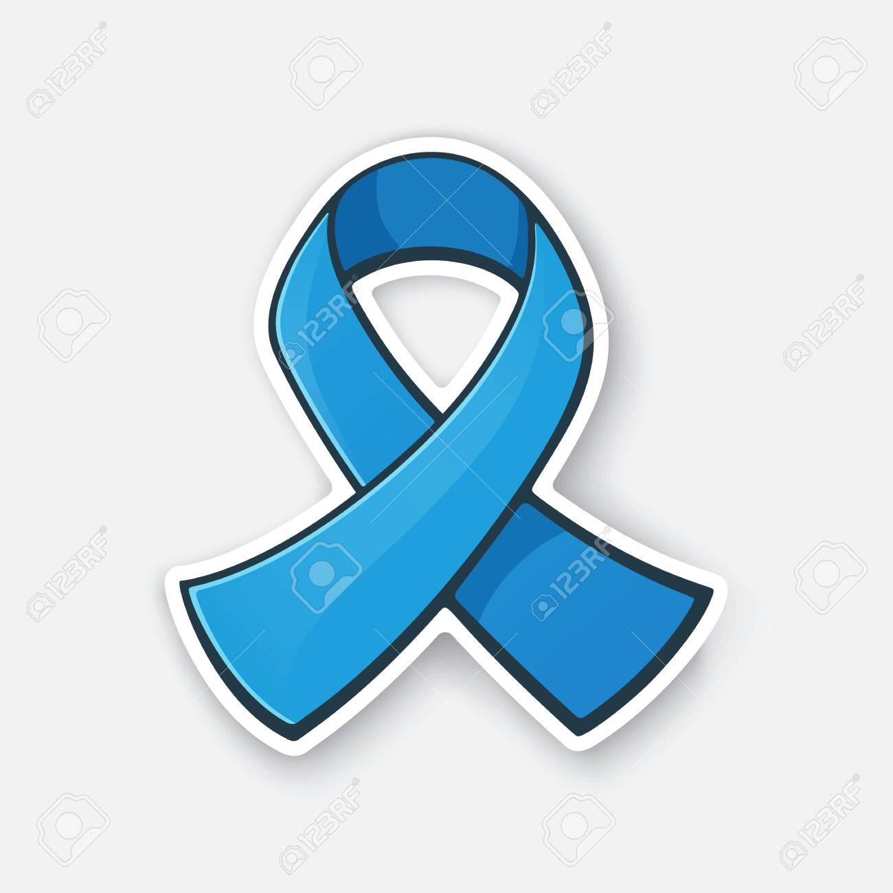 Vector Illustration Ribbon At Blue Color International Symbol Royalty Free Cliparts Vectors And Stock Illustration Image 139699072