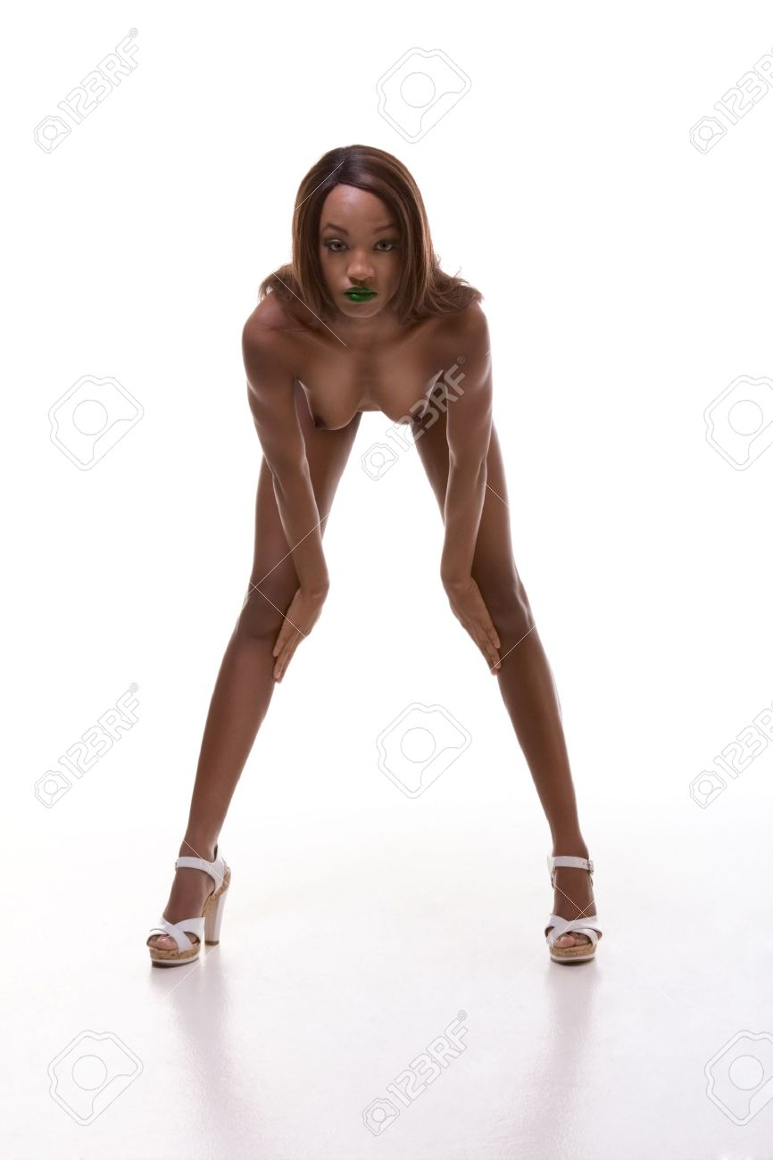 Naked girls different ethnicity Nude Ethnic Young African American Female Model With Green Lips Wearing Wig Bent Over Stock Photo Picture And Royalty Free Image Image 5831171