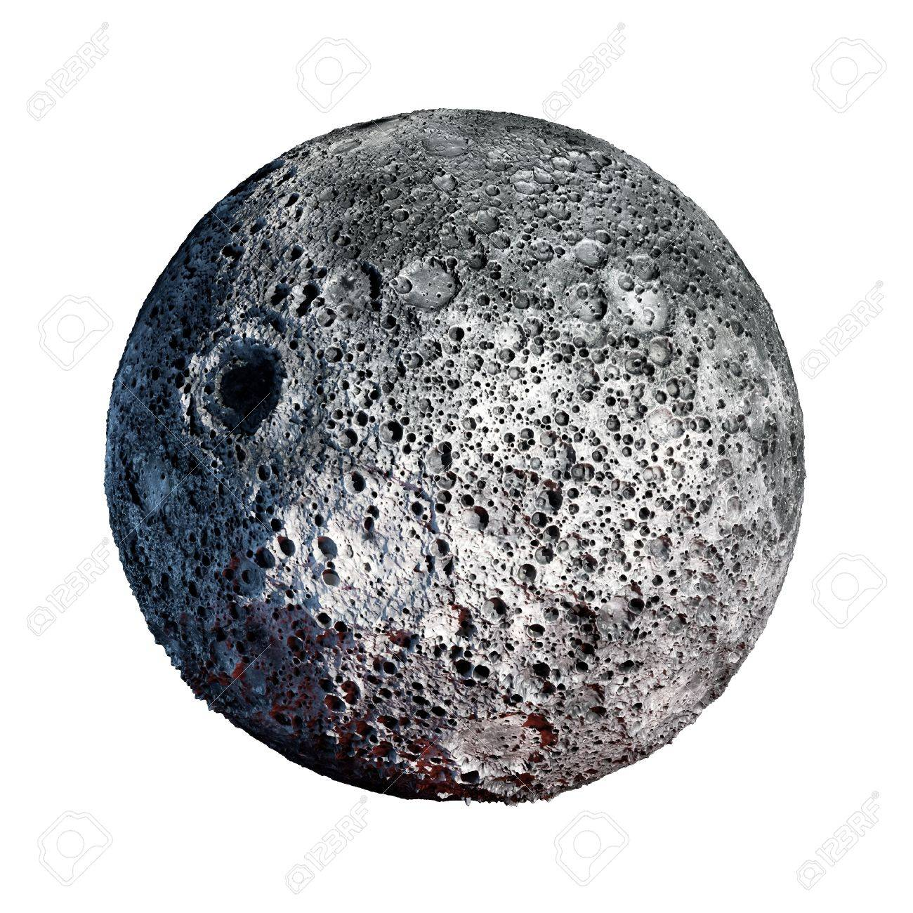 Asteroid Meteorit Stone Cosmic Crater Planet Isolated Stock Photo