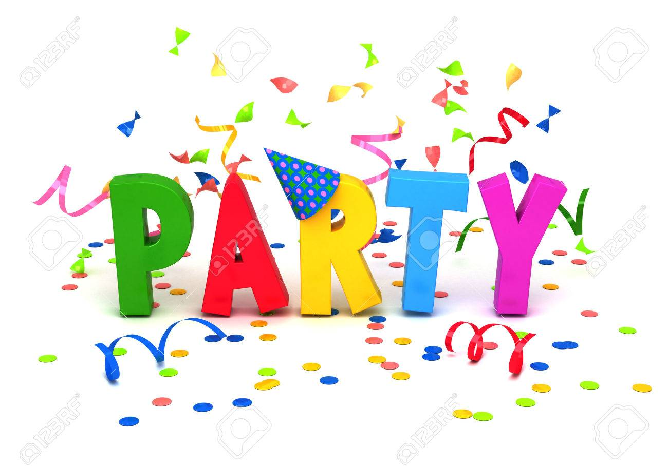 Image result for party word art