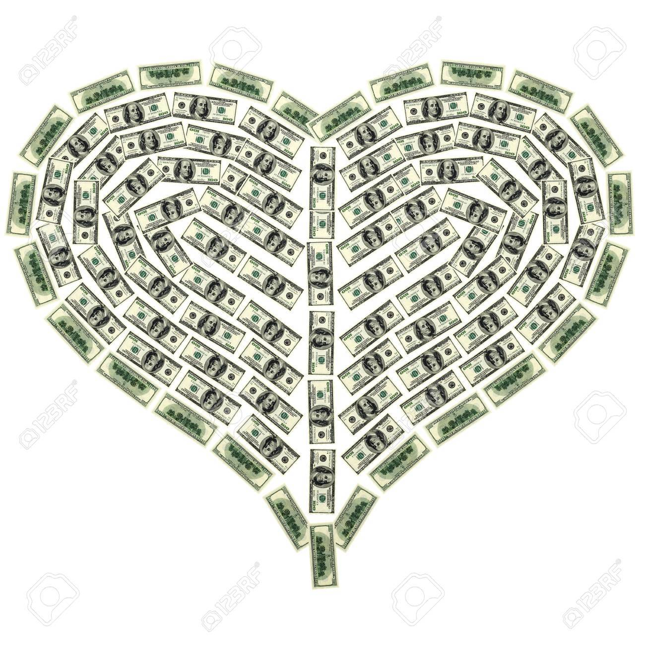 This 3D image heart from dollar Stock Photo - 6790304