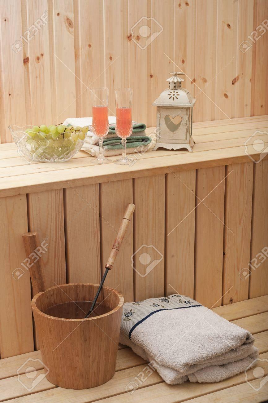 Finnish Sauna Stock Photo - 15484329