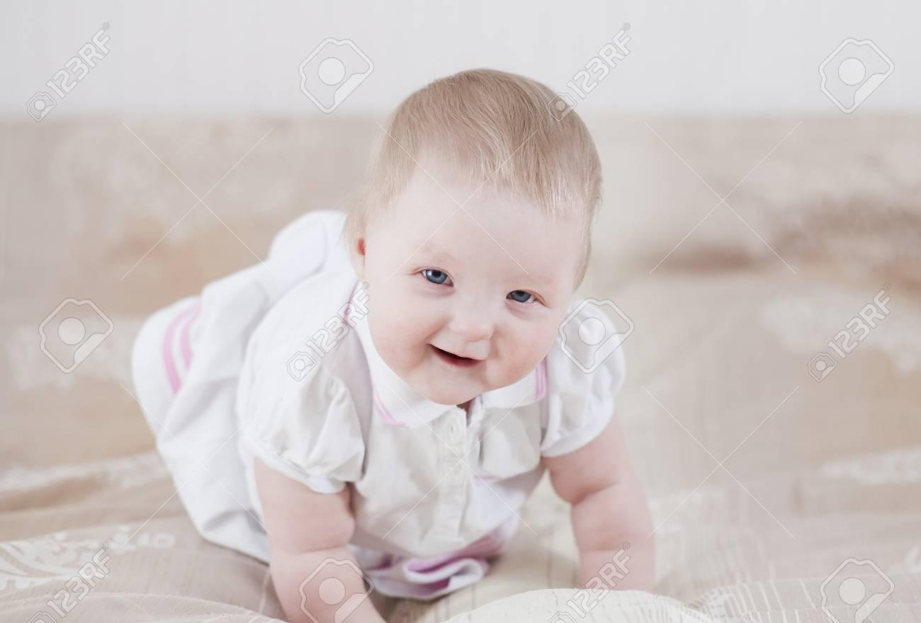 Cute baby having fun Stock Photo - 18204523