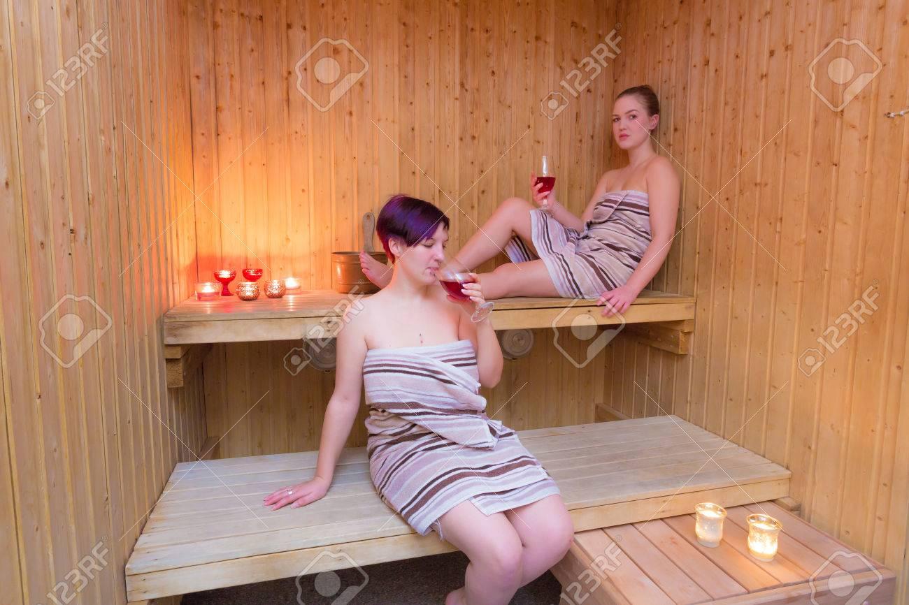 Großartig Sauna Bilder Galerie Von Mädchen Entspannung In Der Standard-bild - 24494804