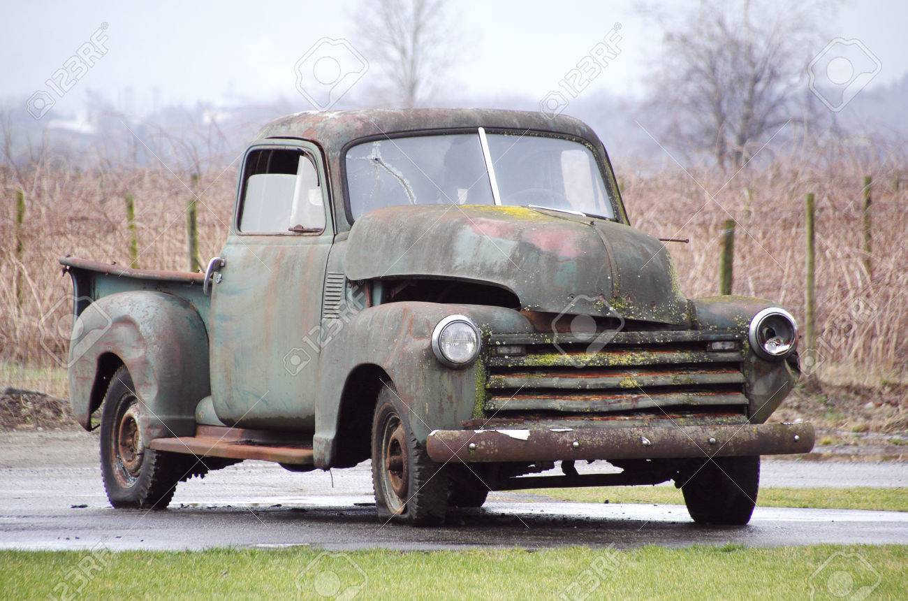 A Classic American Vintage Truck Is Going To Be Someone ...