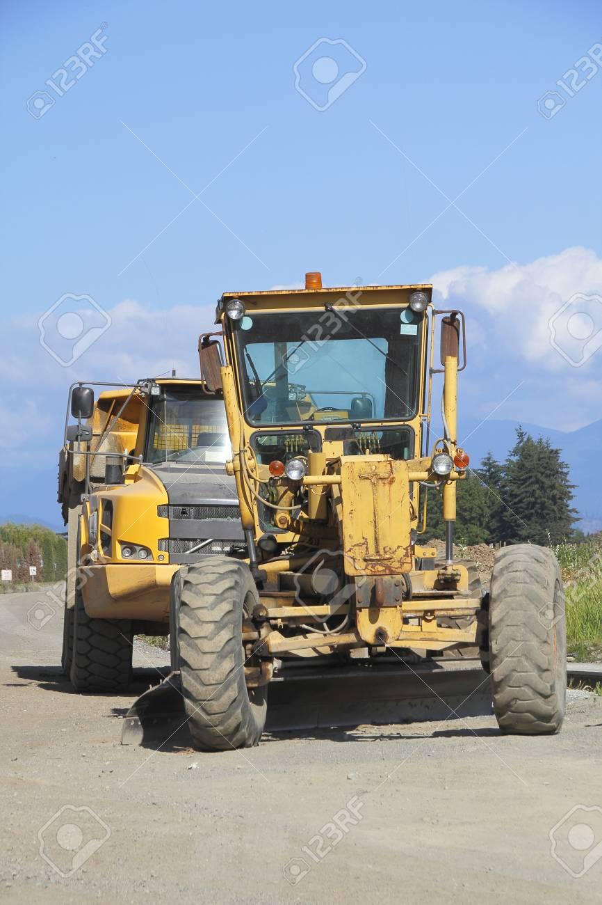 Véhicules Construction des Routes