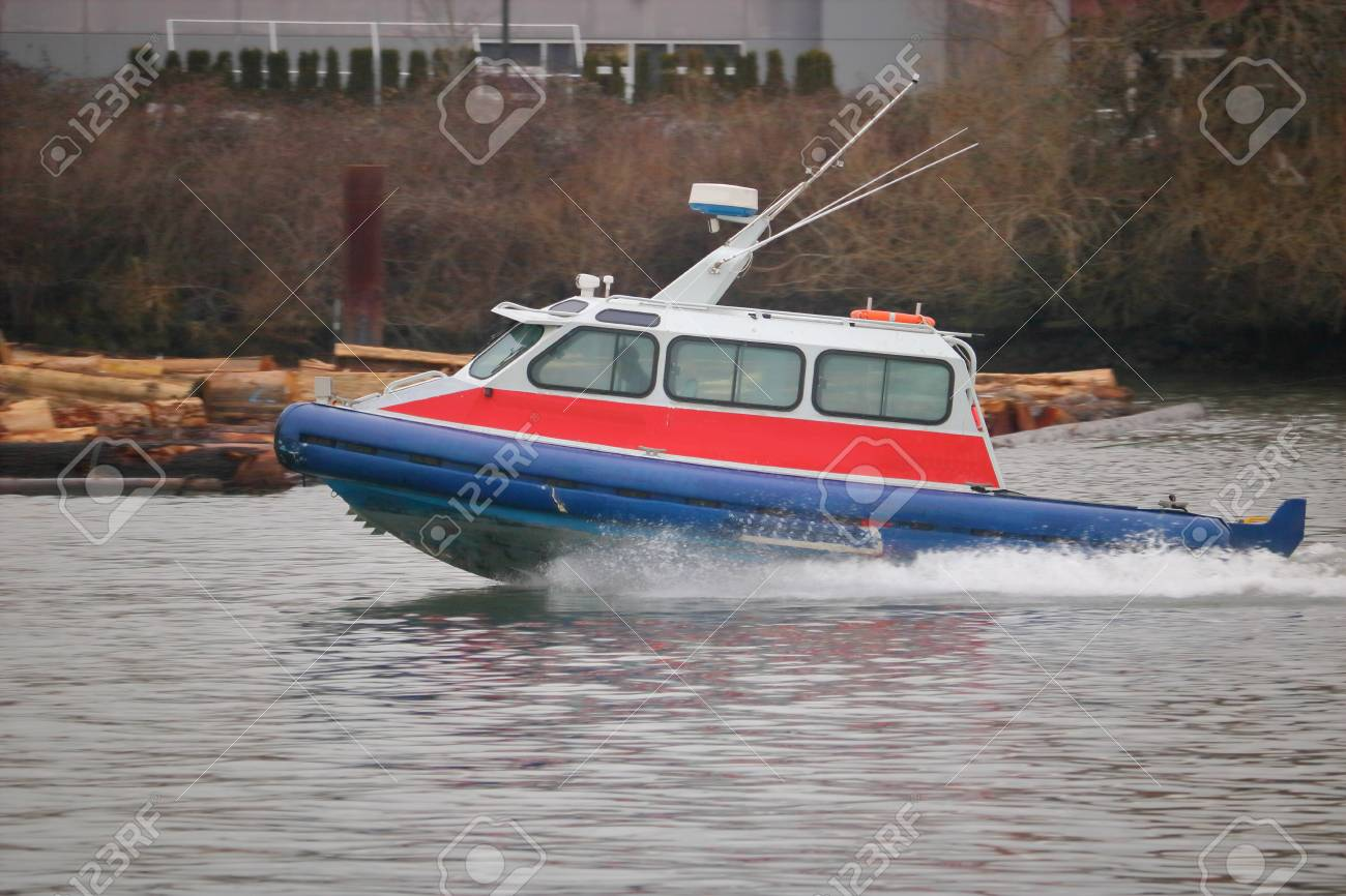 Public transportation services for coastal communities include water taxis - 70890697