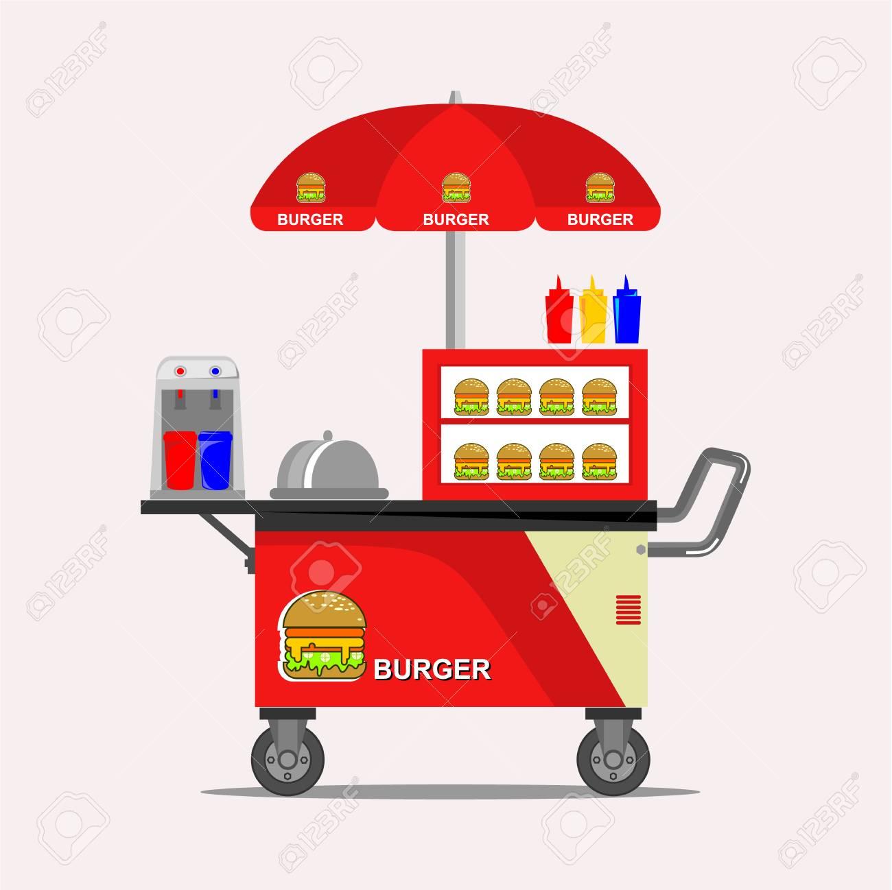 Fast Street Food Cart