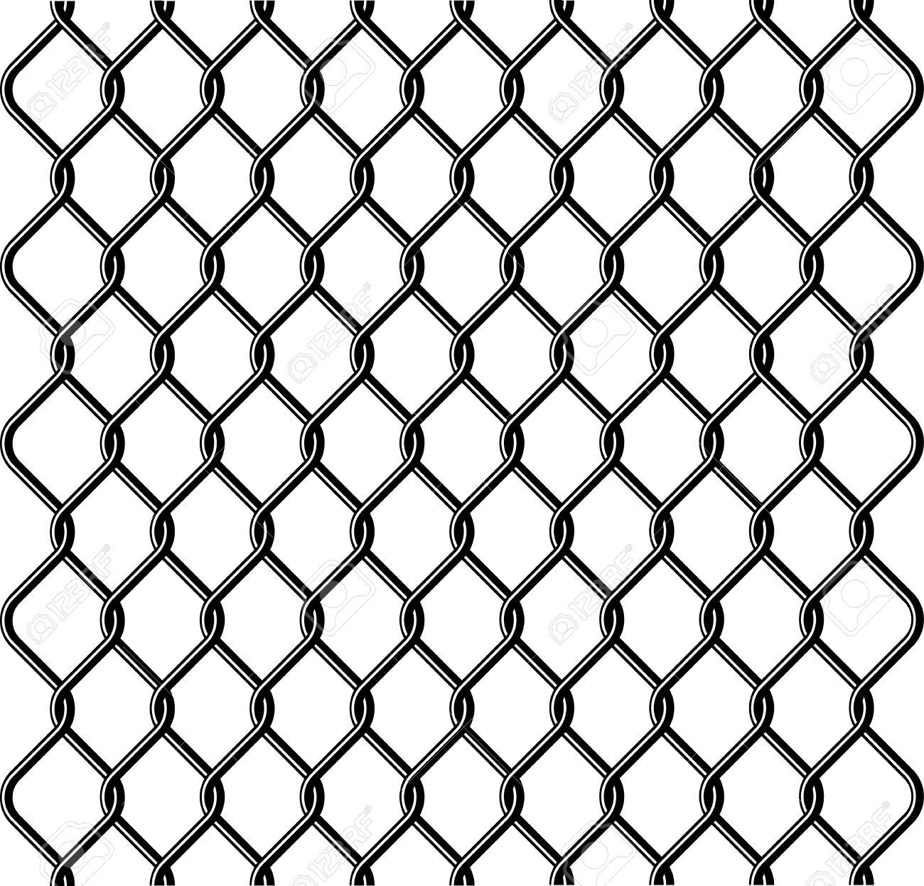 Chain Link Fence Texture Royalty Free Cliparts, Vectors, And Stock ...