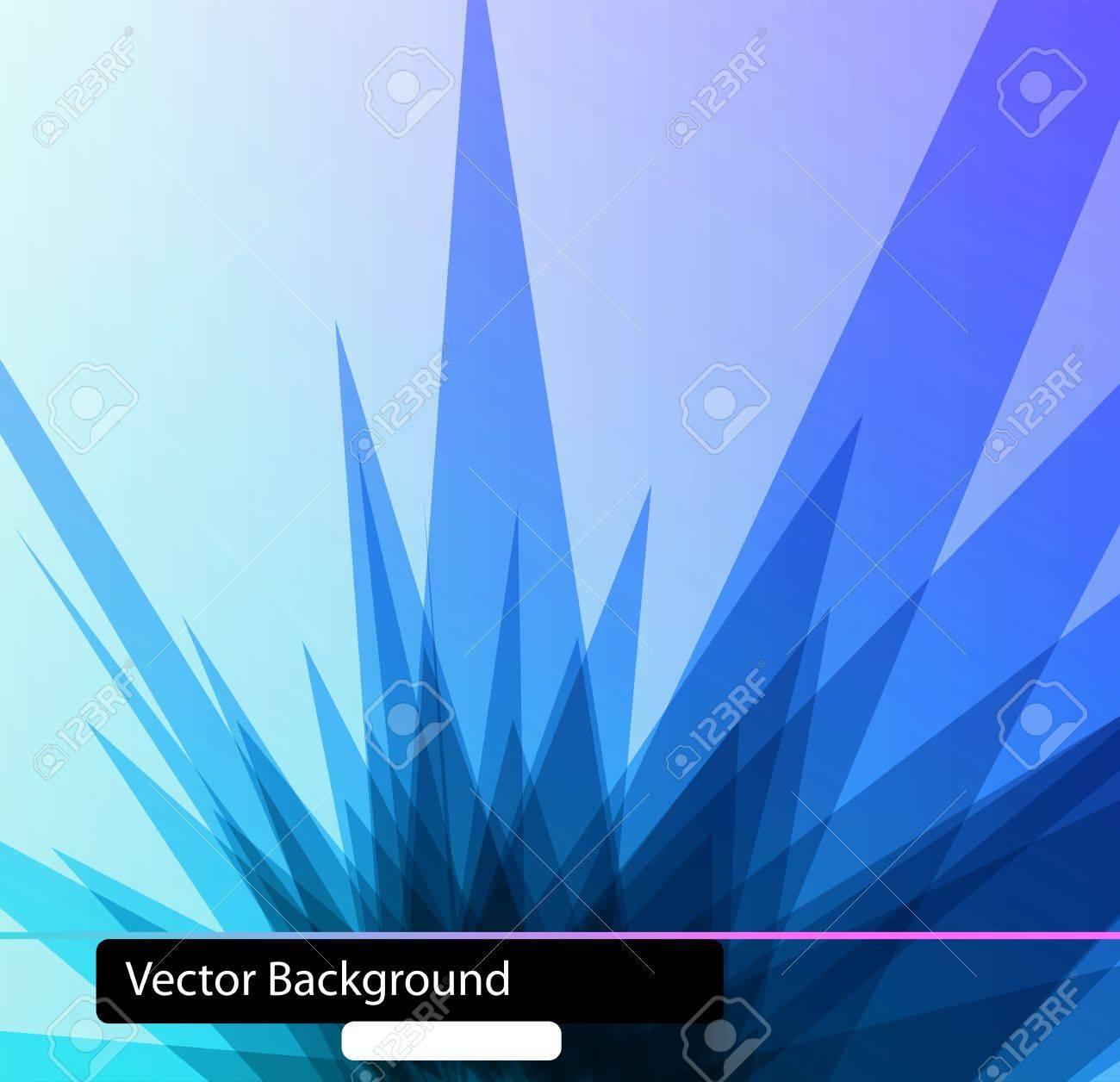 3D Polygonal techno background Stock Vector - 9283927