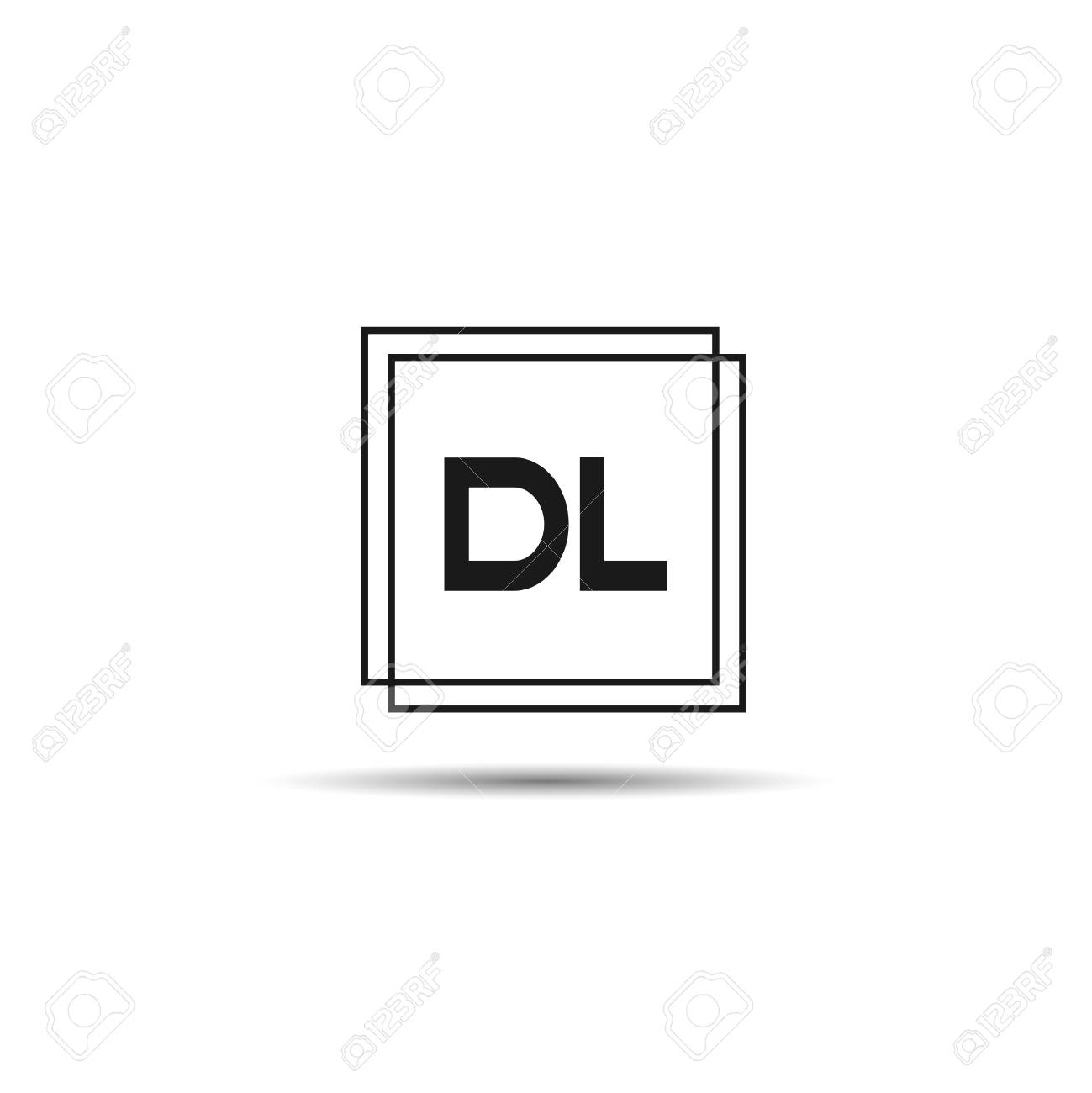 Initial Letter Dl Logo Template Design Royalty Free Cliparts Vectors And Stock Illustration Image 108056785