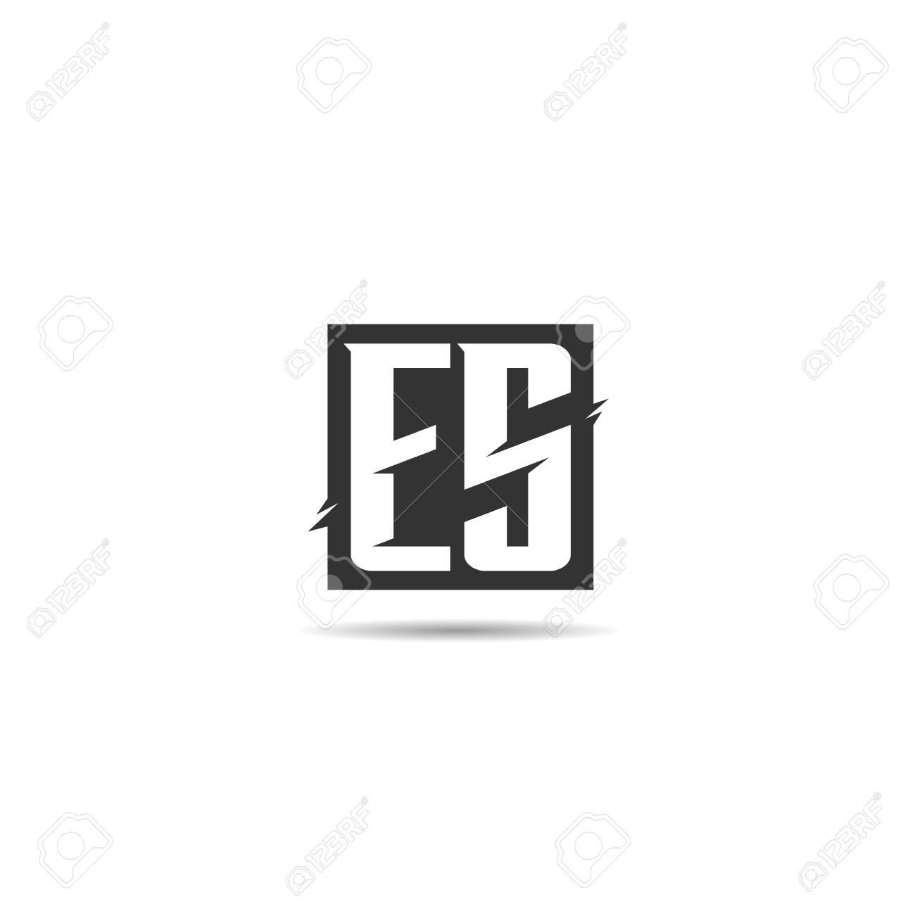 Initial Letter ES Logo Template Design - 108066408