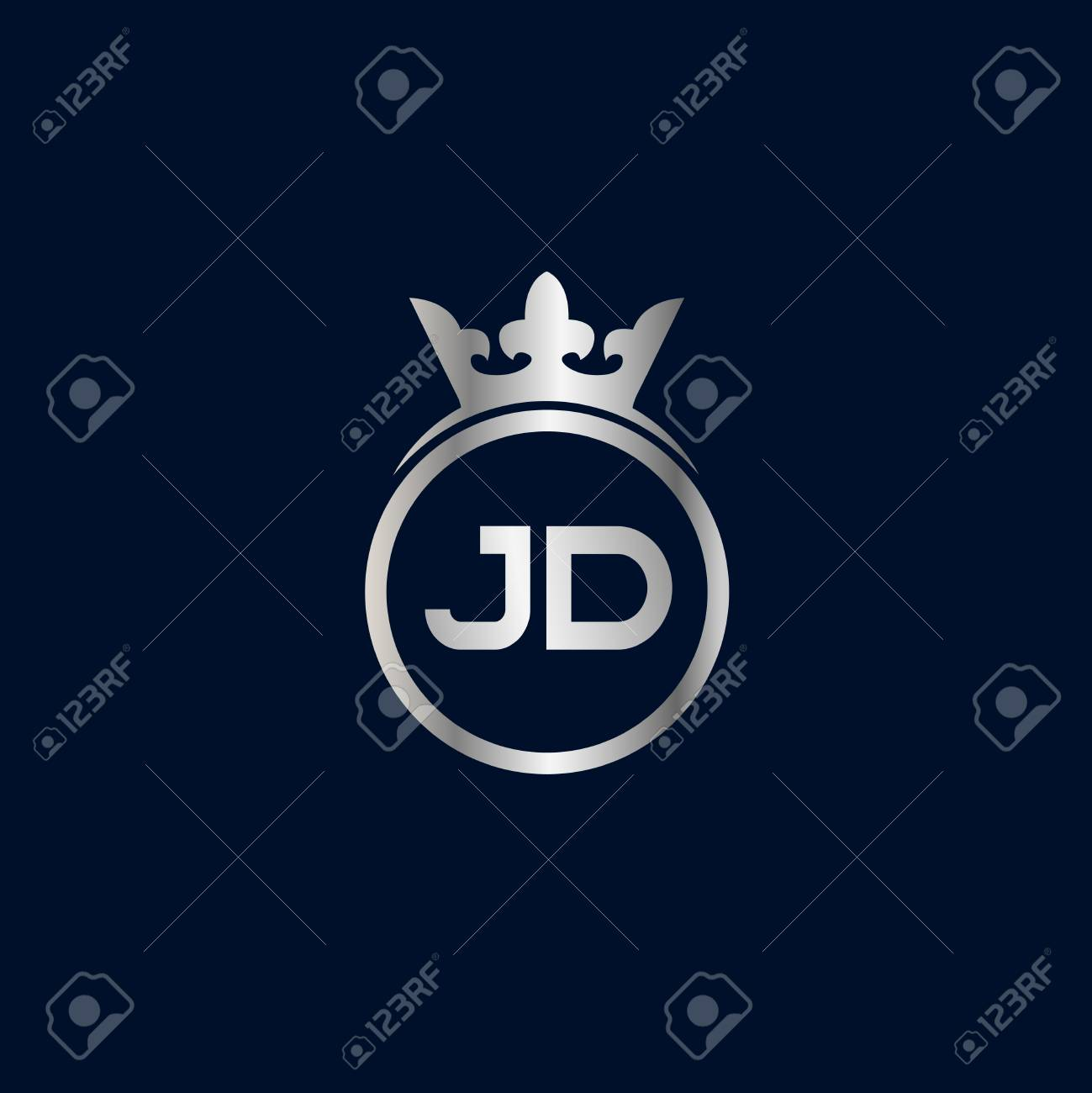 initial letter jd logo template design royalty free cliparts vectors and stock illustration image 109594781 initial letter jd logo template design