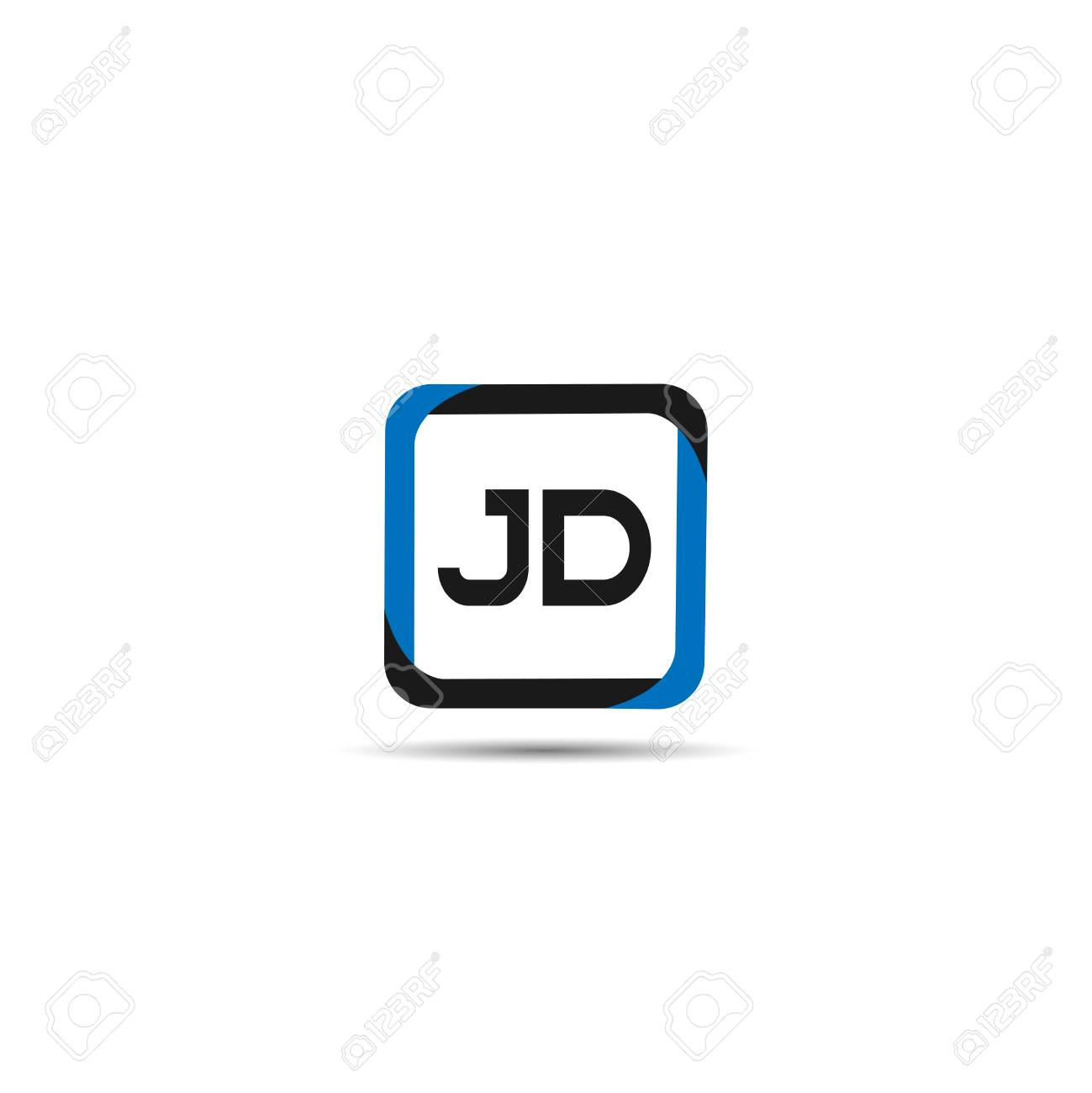 initial letter jd logo template design royalty free cliparts vectors and stock illustration image 109594812 initial letter jd logo template design