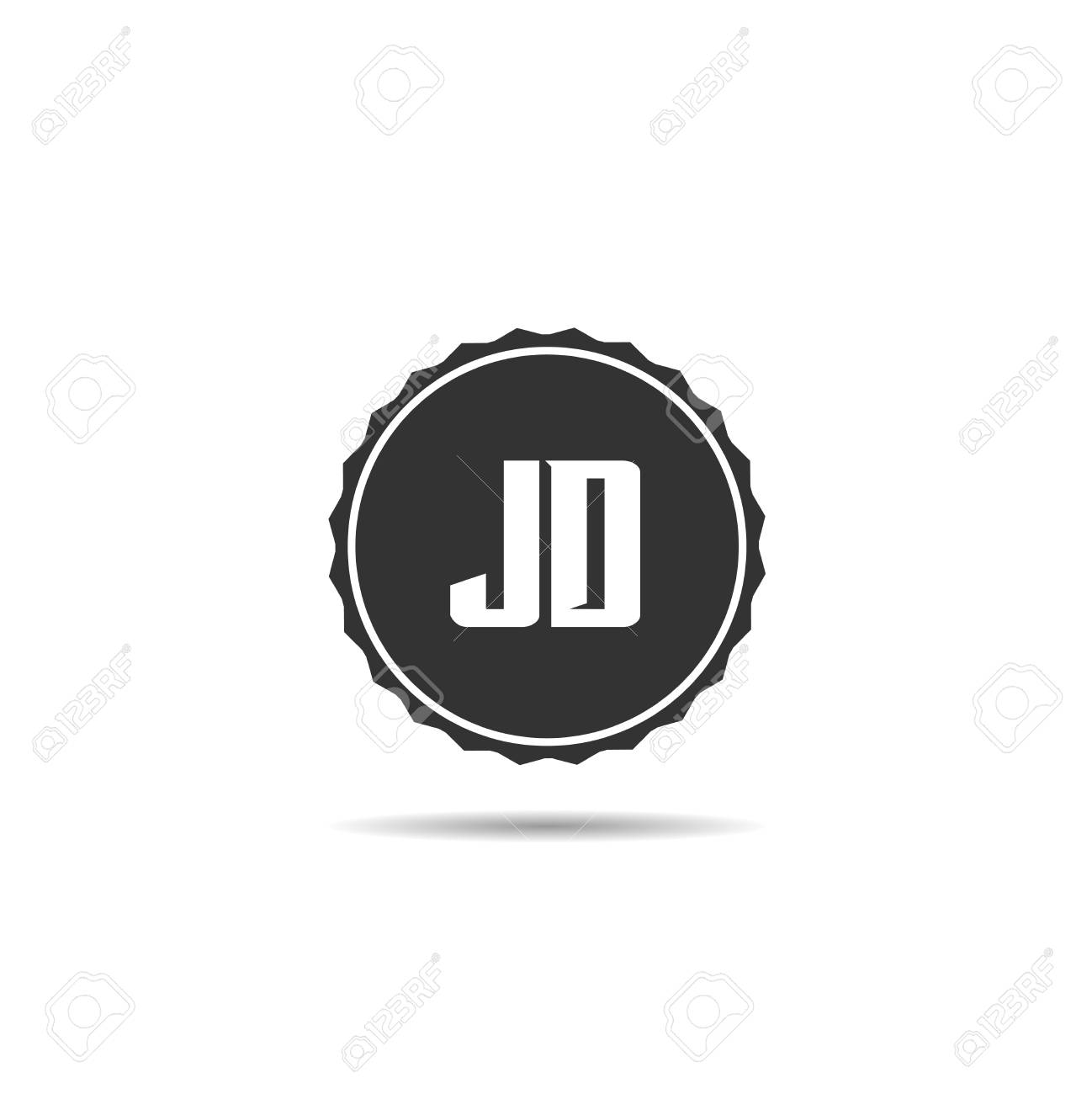 initial letter jd logo template design royalty free cliparts vectors and stock illustration image 109594857 initial letter jd logo template design