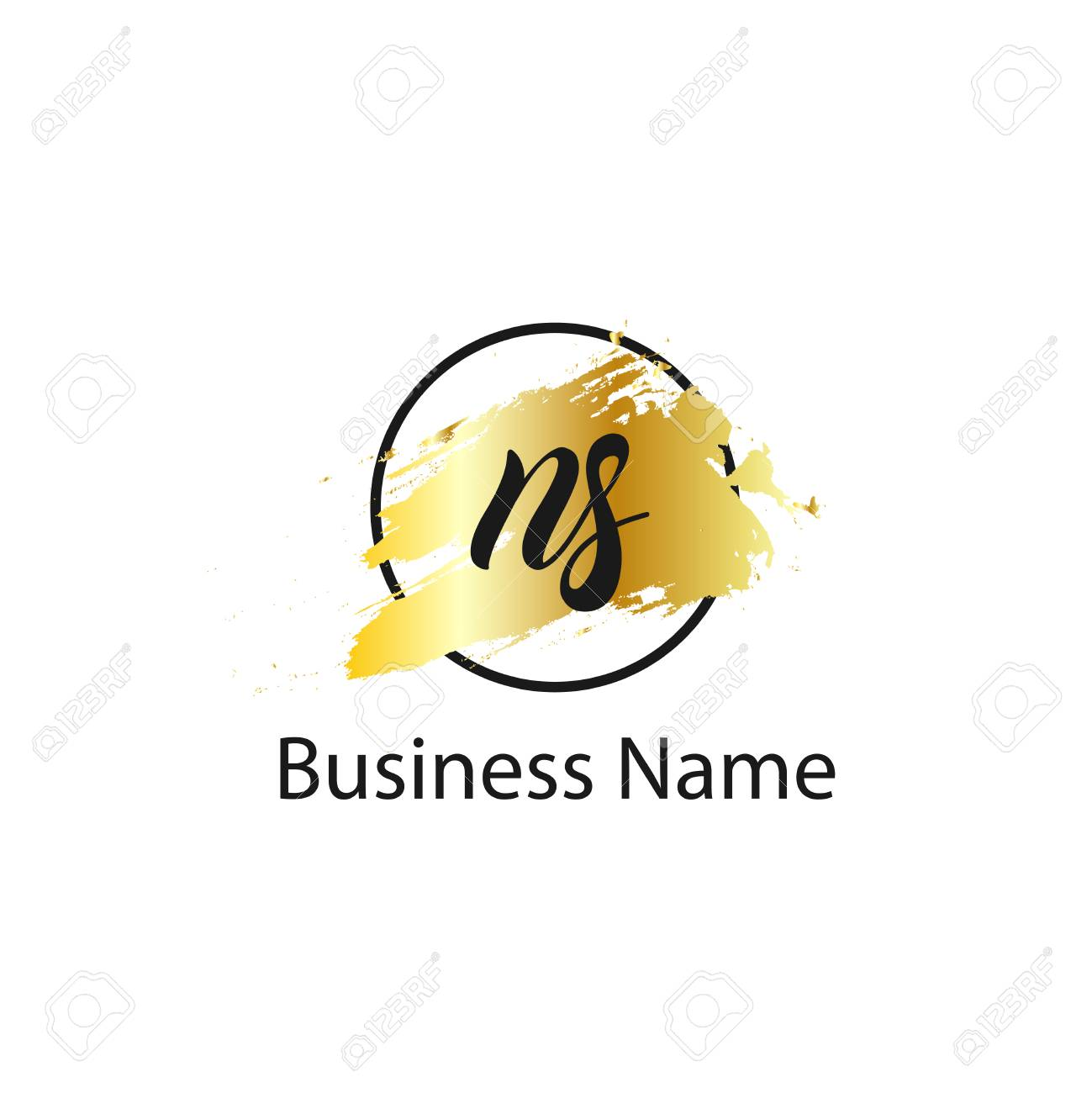 Initial Letter Ns Logo Template Design Royalty Free Cliparts Vectors And Stock Illustration Image 109605625 All enquiries to this page. initial letter ns logo template design