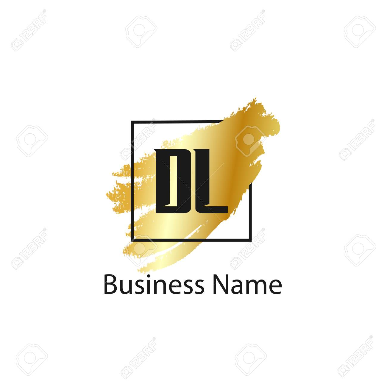 Initial Letter Dl Logo Template Design Royalty Free Cliparts Vectors And Stock Illustration Image 110732558