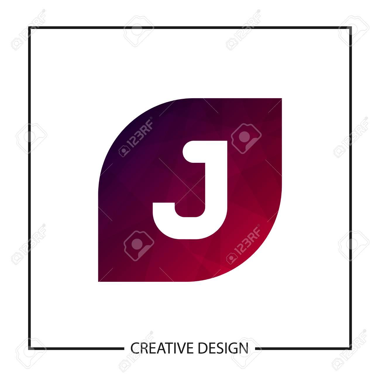Initial Letter J Template Vector Design - 112518445