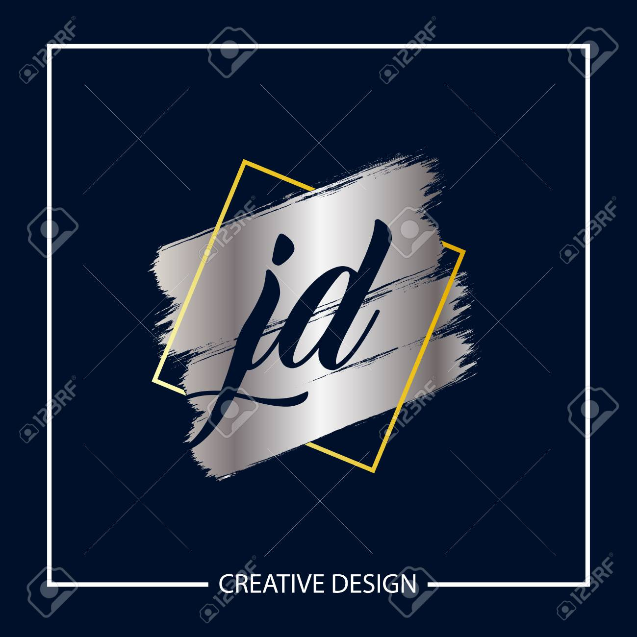 initial letter jd logo template design royalty free cliparts vectors and stock illustration image 112579190 initial letter jd logo template design