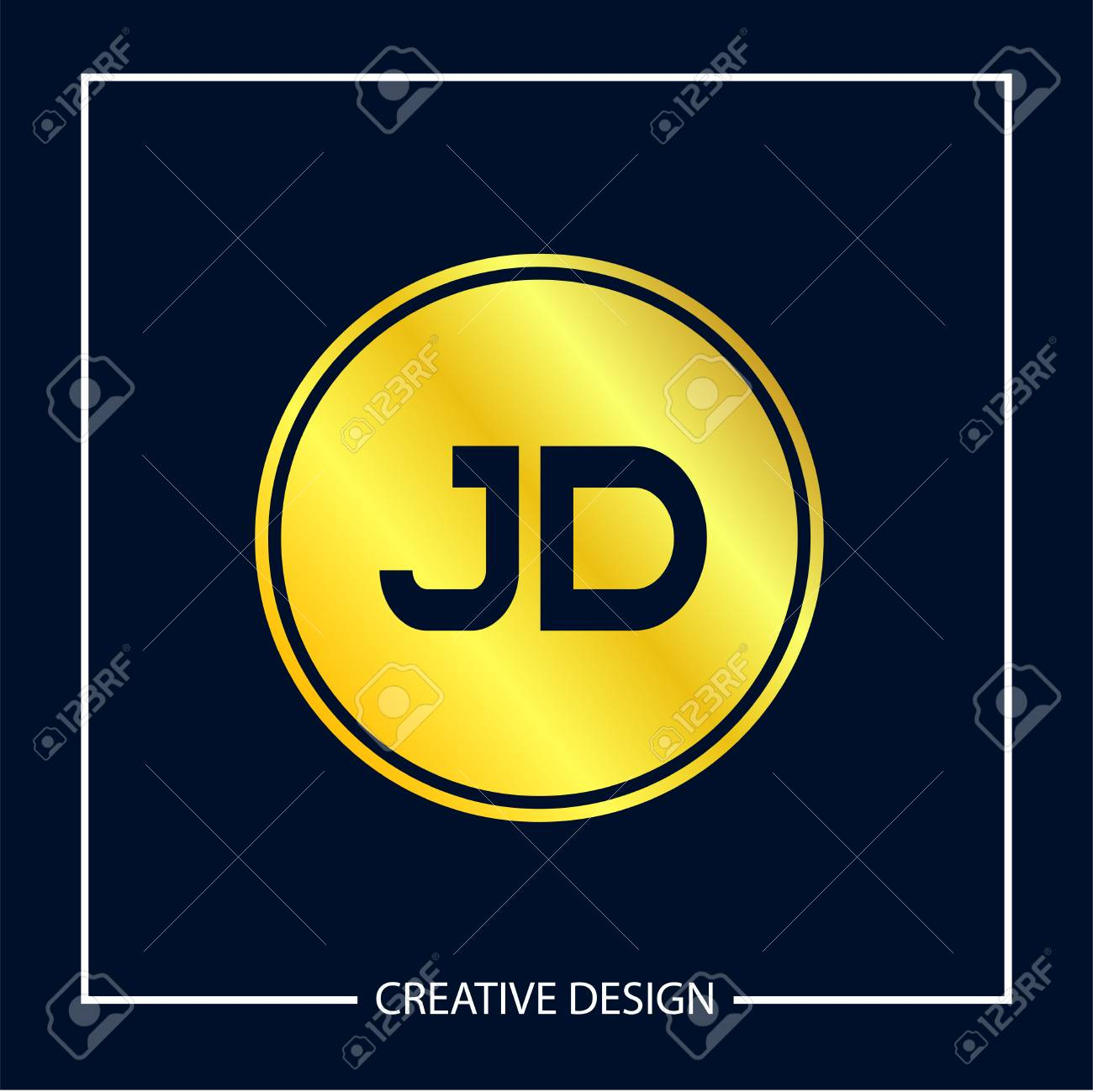 initial letter jd logo template design royalty free cliparts vectors and stock illustration image 112579776 initial letter jd logo template design
