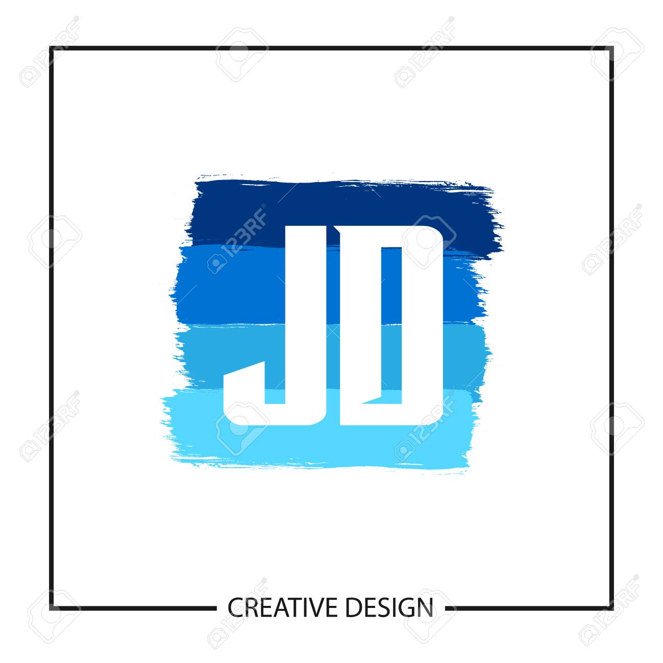 initial letter jd logo template design royalty free cliparts vectors and stock illustration image 112710673 123rf com