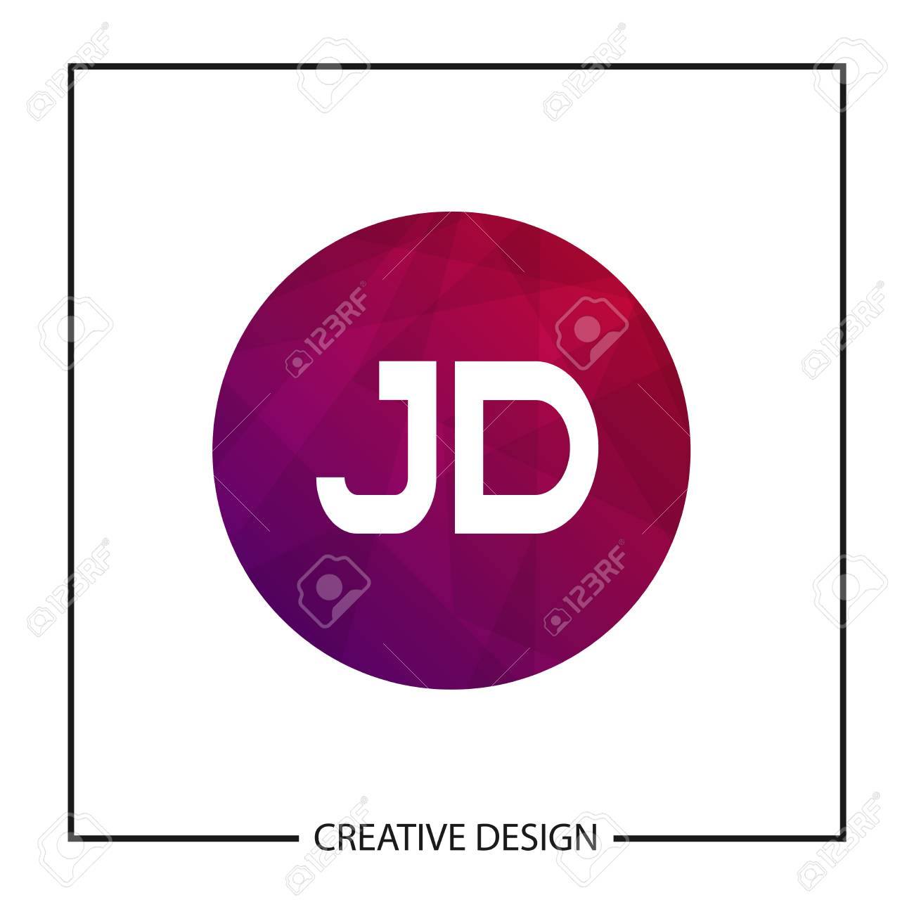 initial letter jd logo template design royalty free cliparts vectors and stock illustration image 112710749 initial letter jd logo template design