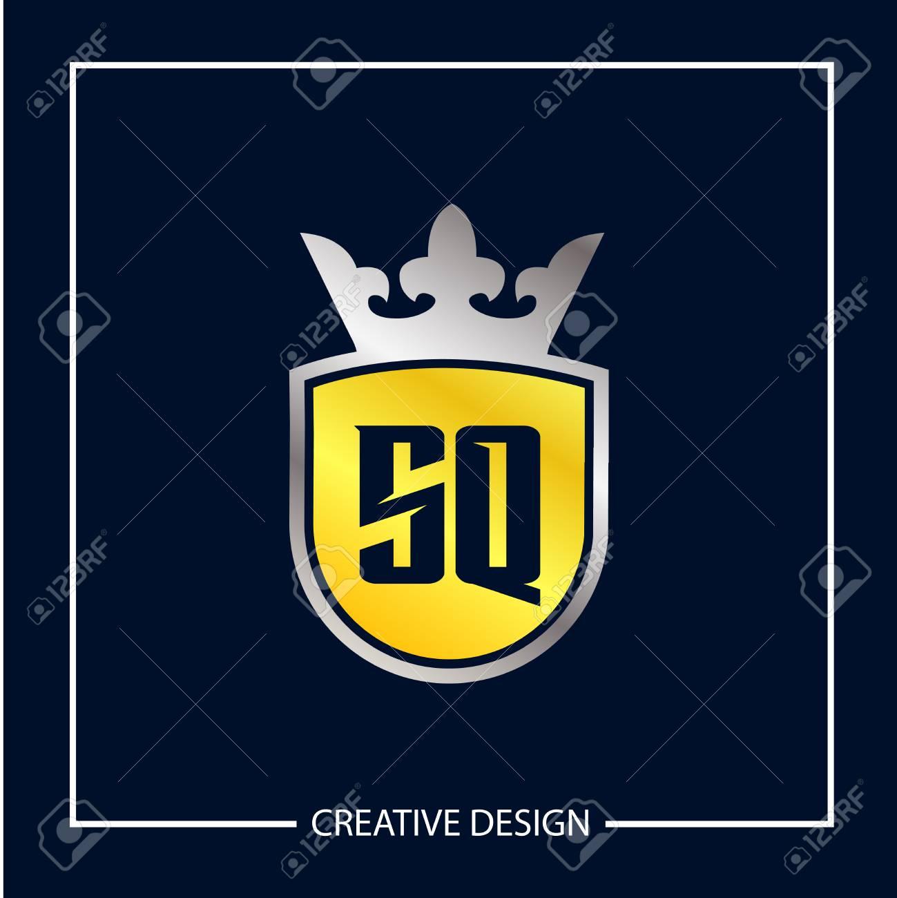 Initial Letter SQ Logo Template Design Vector Illustration - 113001565
