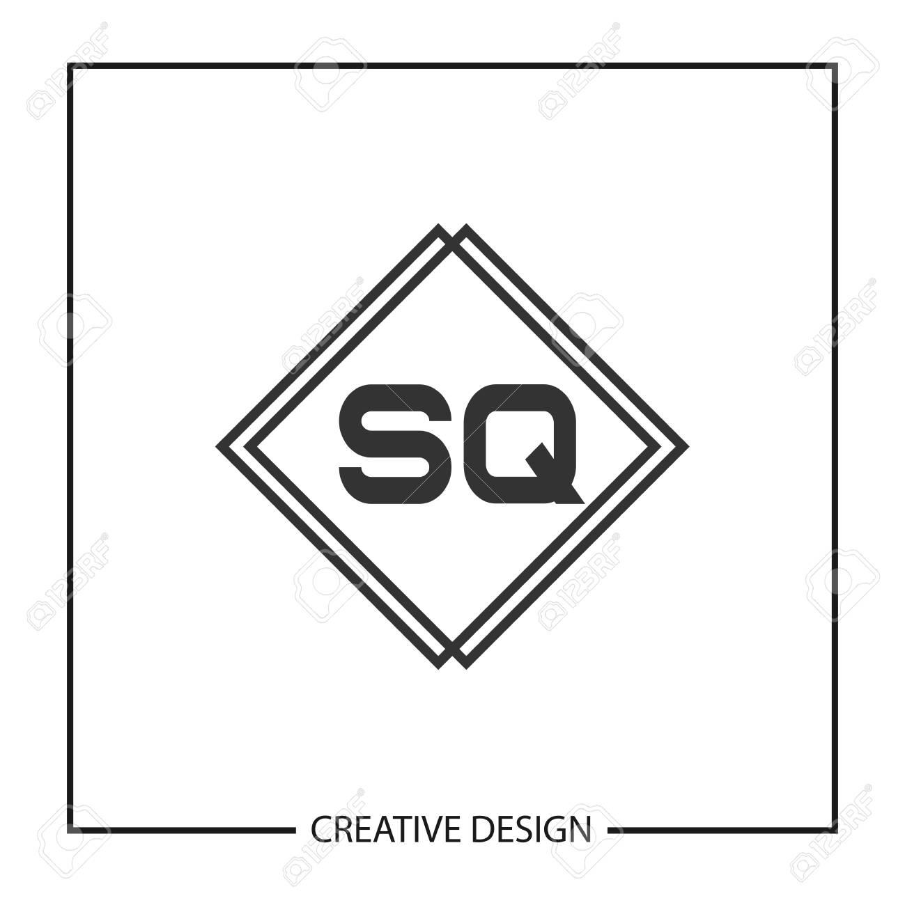 Initial Letter SQ Logo Template Design Vector Illustration - 113333772