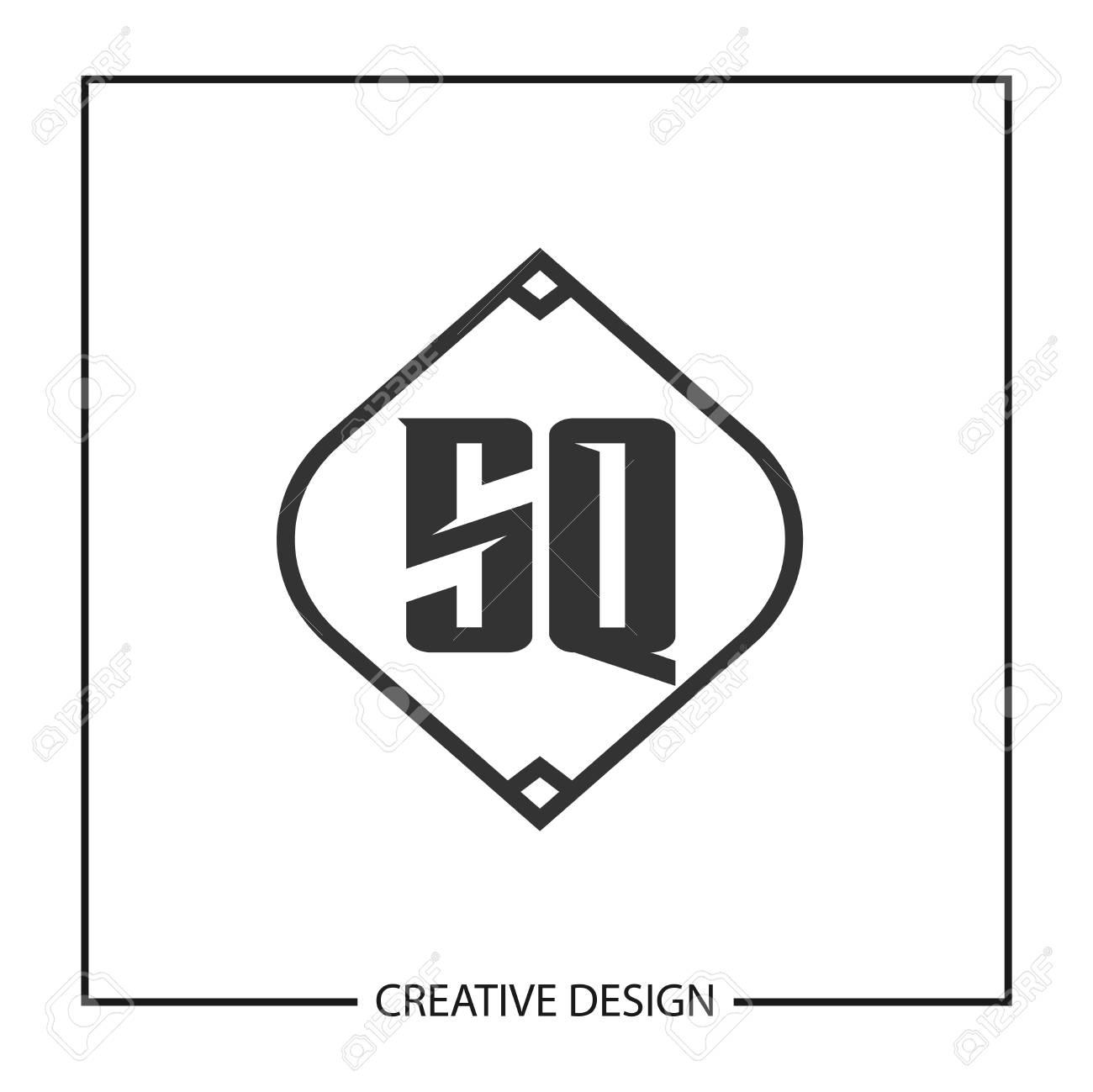 Initial Letter SQ Logo Template Design Vector Illustration - 113333927