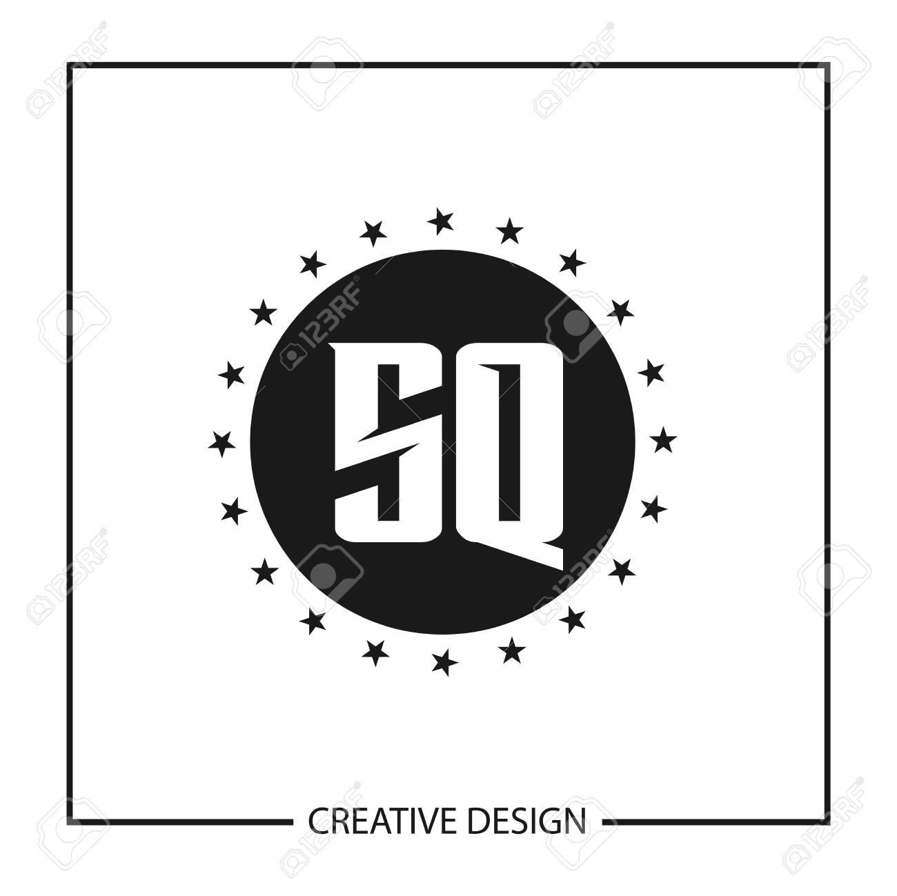 Initial Letter SQ Logo Template Design Vector Illustration - 113110814