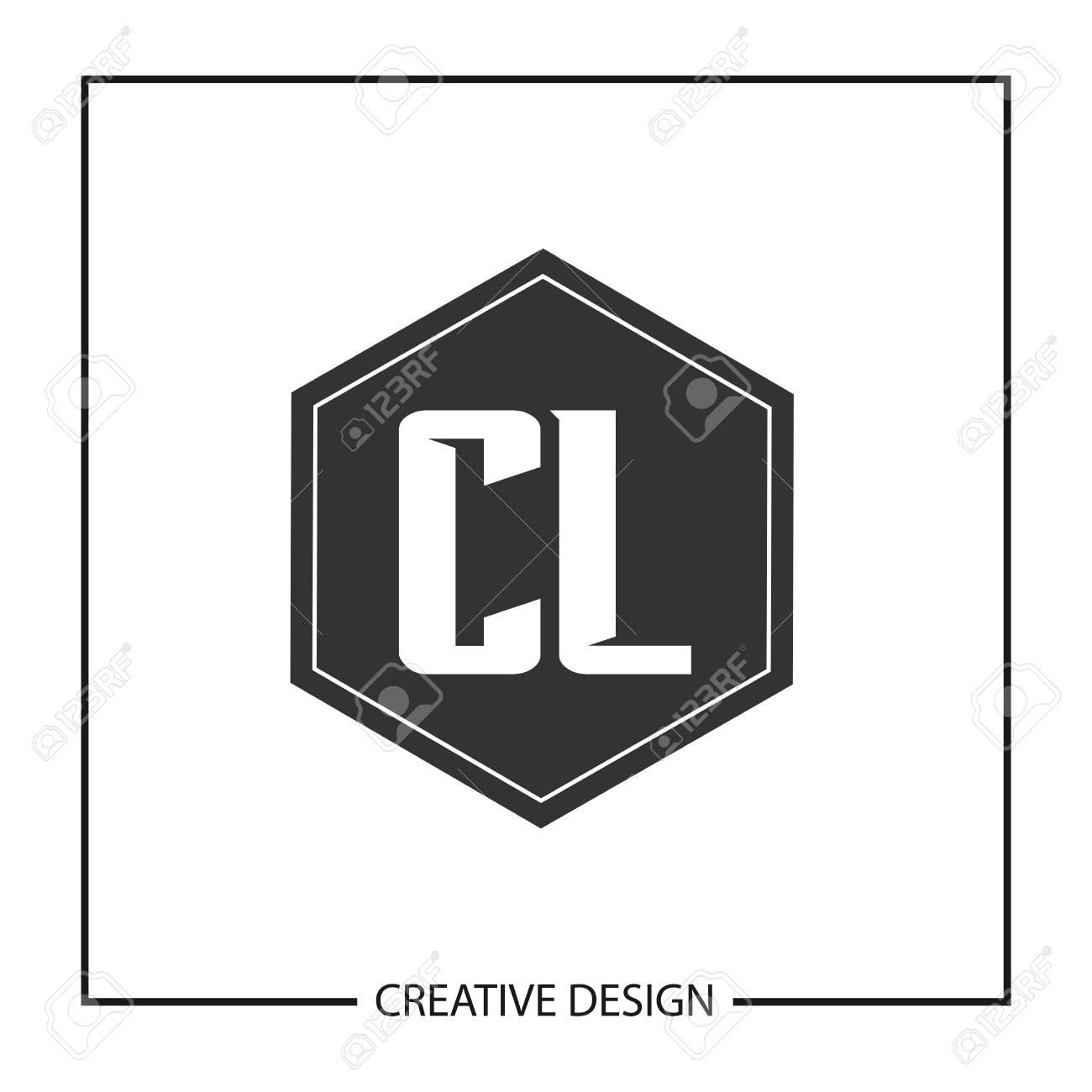 Initial Letter CL Logo Template Design Vector Illustration - 113872392