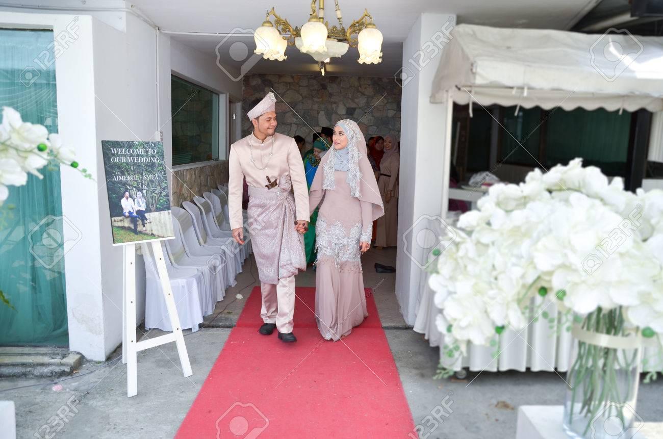 Kuala Lumpur, Malaysia March 22, 2014. Malay Wedding Ceremony ...